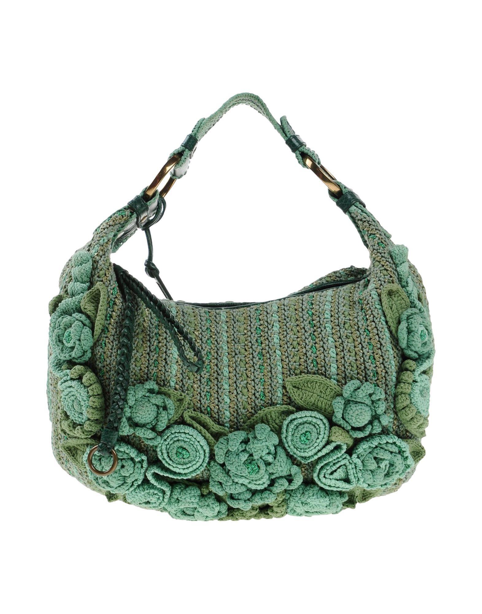 a6546a76ff Lyst - Isabella Fiore Handbag in Green