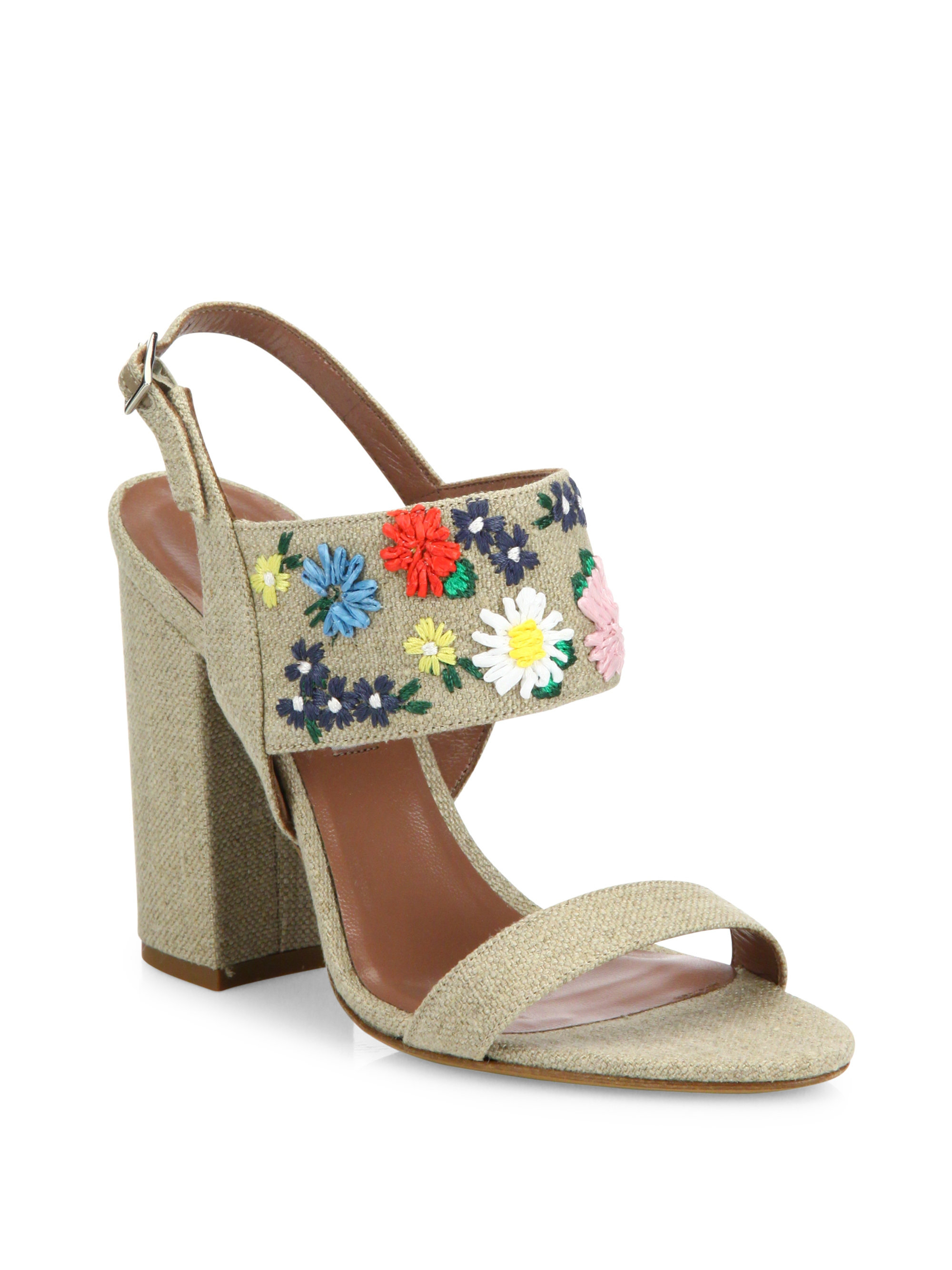 Tabitha Simmons Raffia Embroidered Sandals new for sale sale very cheap fast delivery cheap online buy cheap deals MgzVfnNb9x