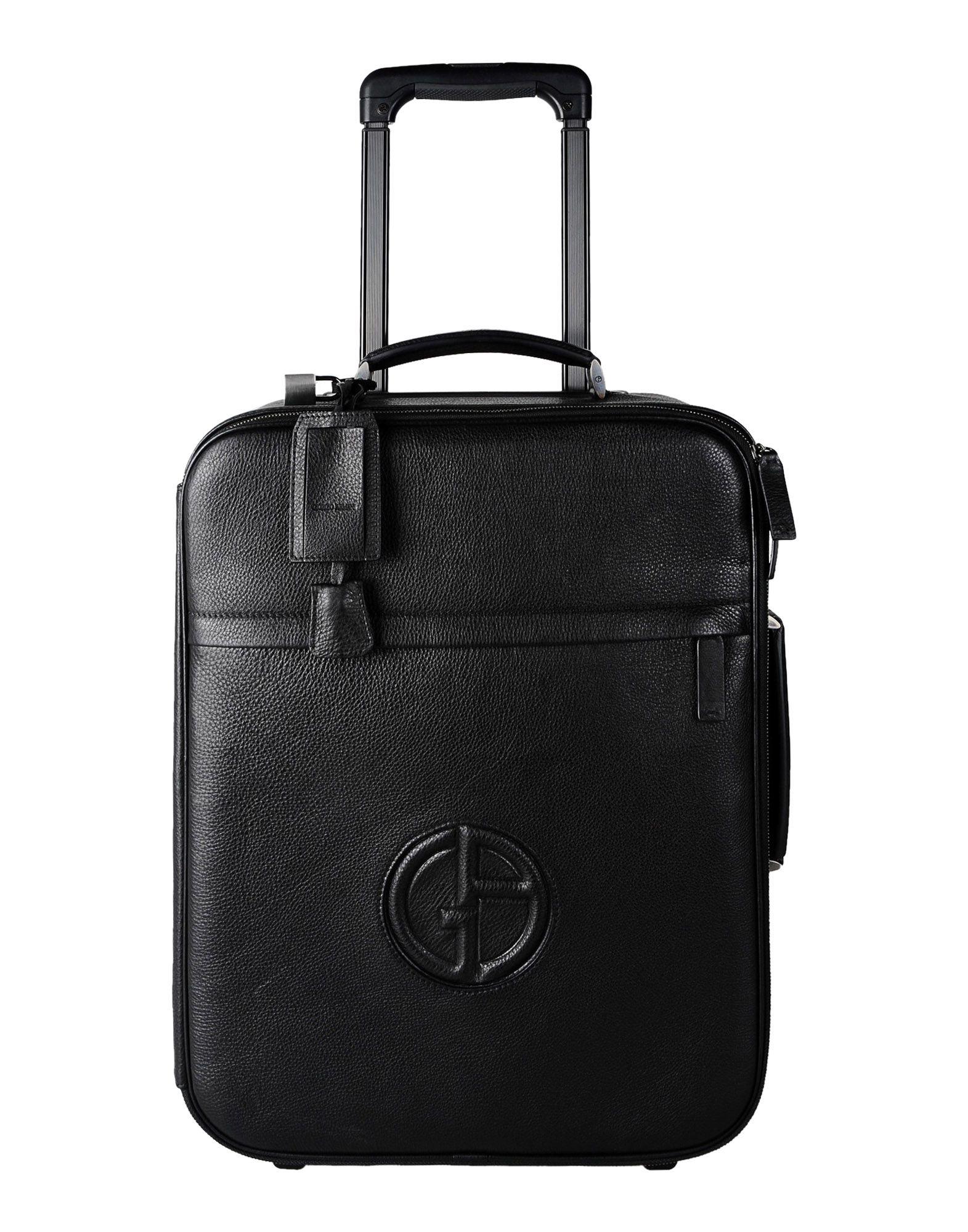 305725d6a3 Lyst - Giorgio Armani Wheeled Luggage in Black for Men
