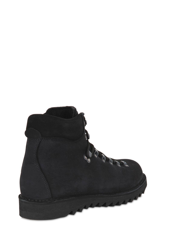 diemme roccia vet nubuck hiking boots in black lyst