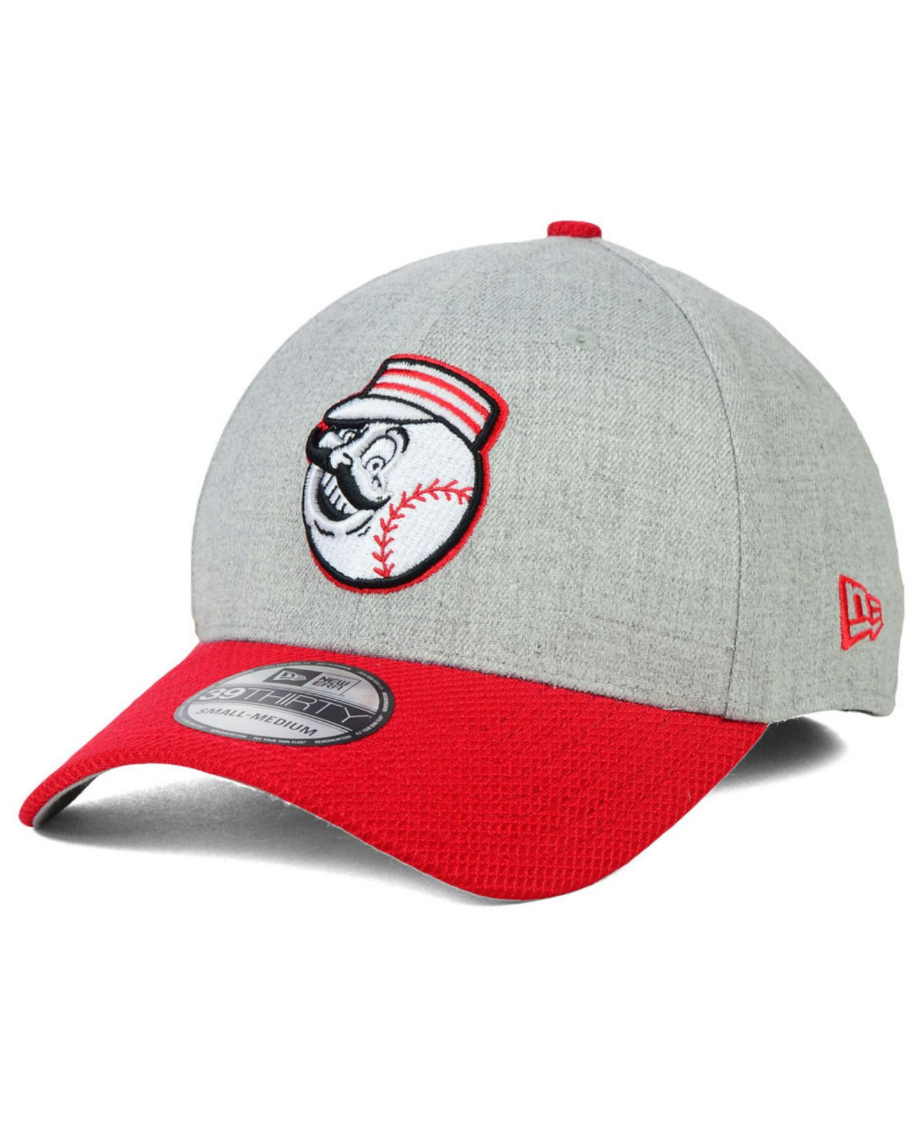 e02c45c2e7b ... hat 8bfc9 acb40  germany lyst ktz cincinnati reds clubhouse 39thirty cap  in gray for men 88ea5 963ee