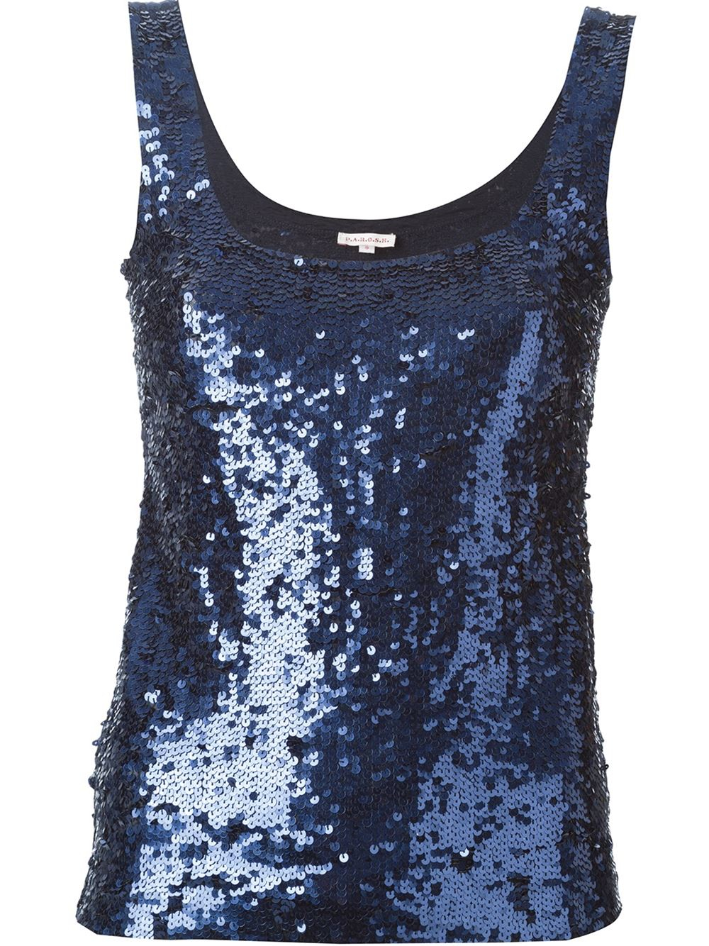 This classic, Ultra Sparkle sequin tank top features a scoop neckline and wide, bra-friendly straps. All sizes are fully lined; adult sizes have shelf bra for added support. Imported. Fabric: Polyester/Spandex. New color available! Now in Electric Purple.