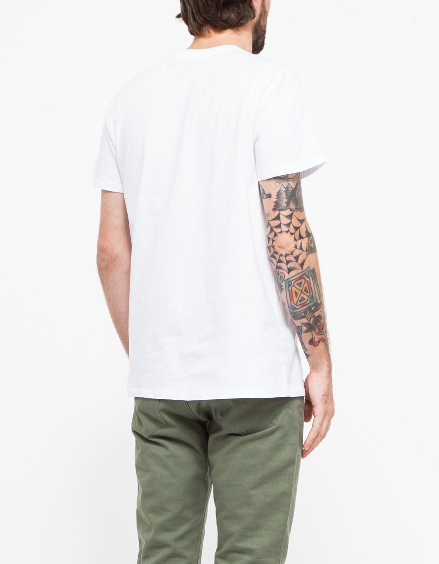 Lyst a p c the end t shirt in white for Apc white t shirt