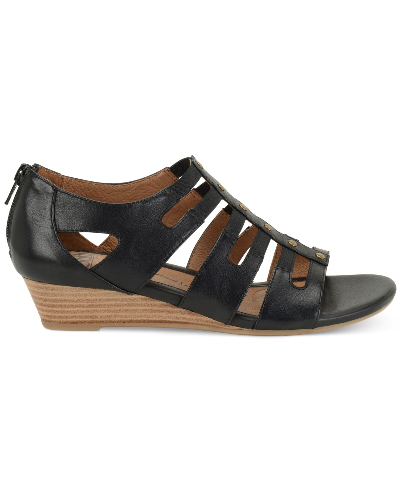 s 246 fft ilana wedge sandals in black lyst