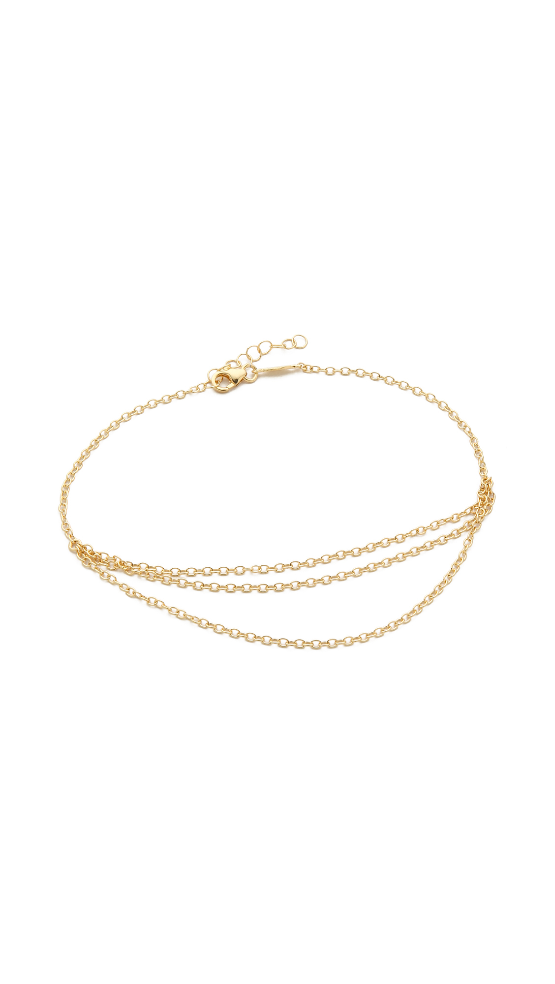 loren lyst stewart women gold karat jewelry s anklet in metallic