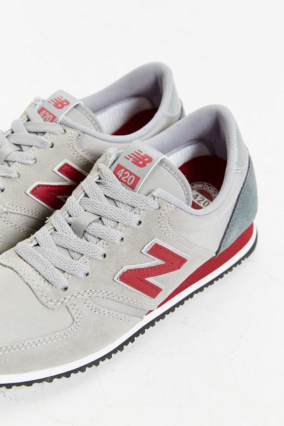 more photos 693cf 468e7 New Balance 420  70s Running Sneaker in Gray for Men - Lyst