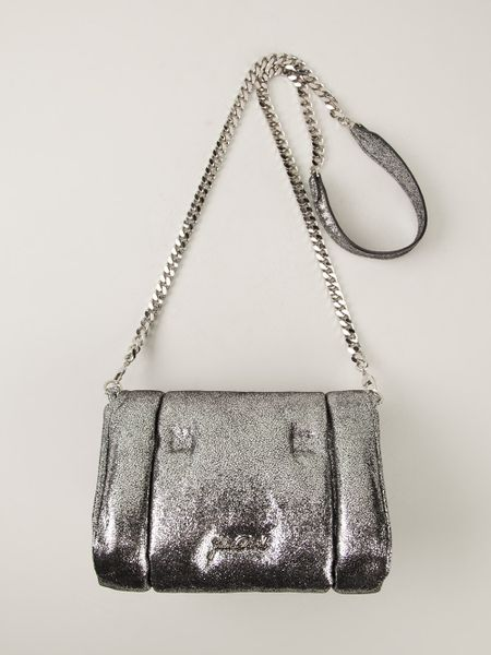 Small Silver Shoulder Bag 81
