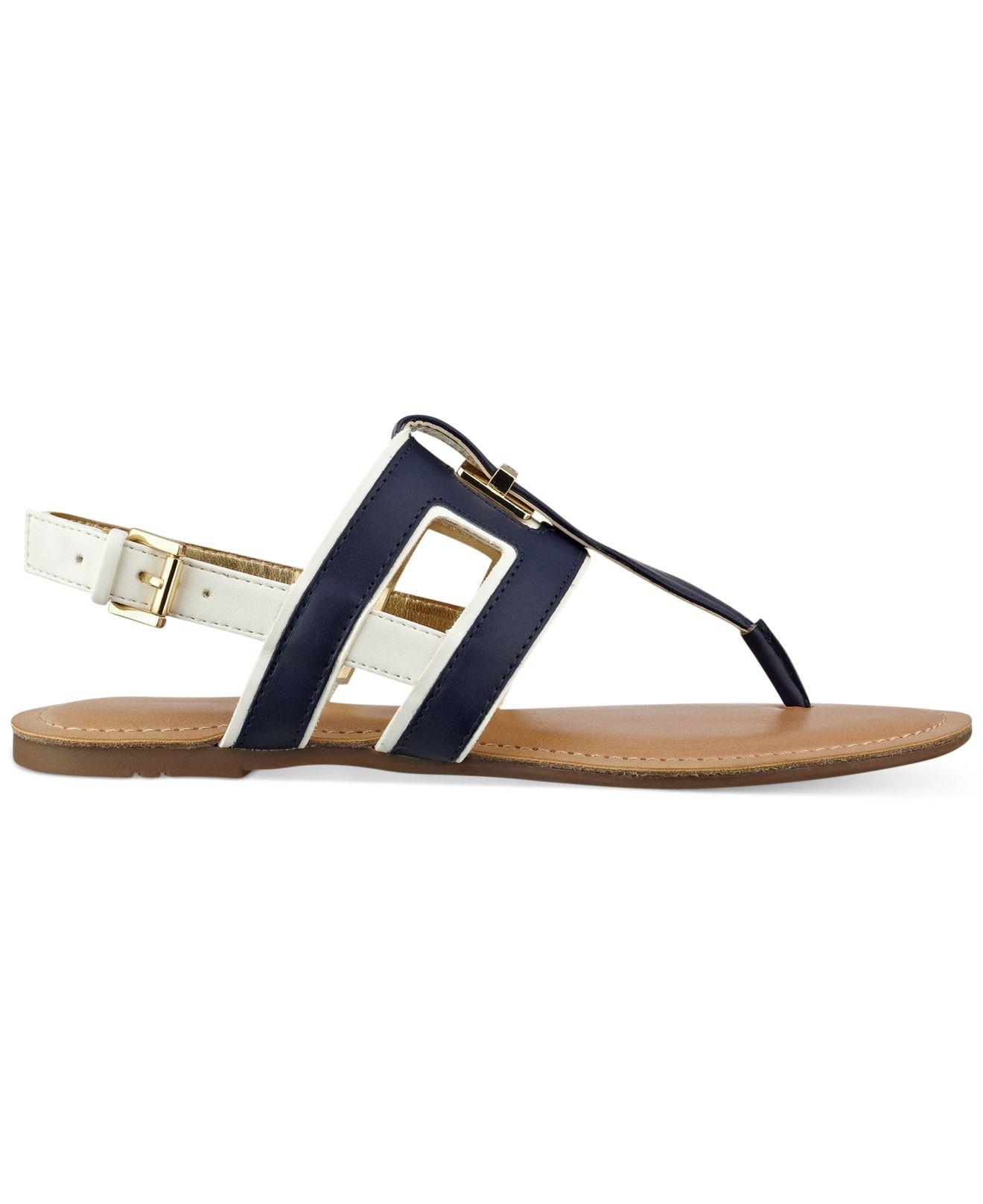 strappy sandals - Blue Tommy Hilfiger i1DH3Ir