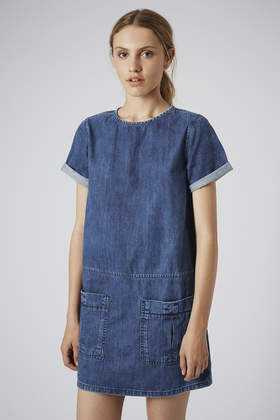 Denim t-shirt dress