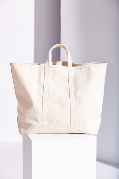1798b76f6 s t e e l e. Natural Canvas Tote Bag in White - Lyst