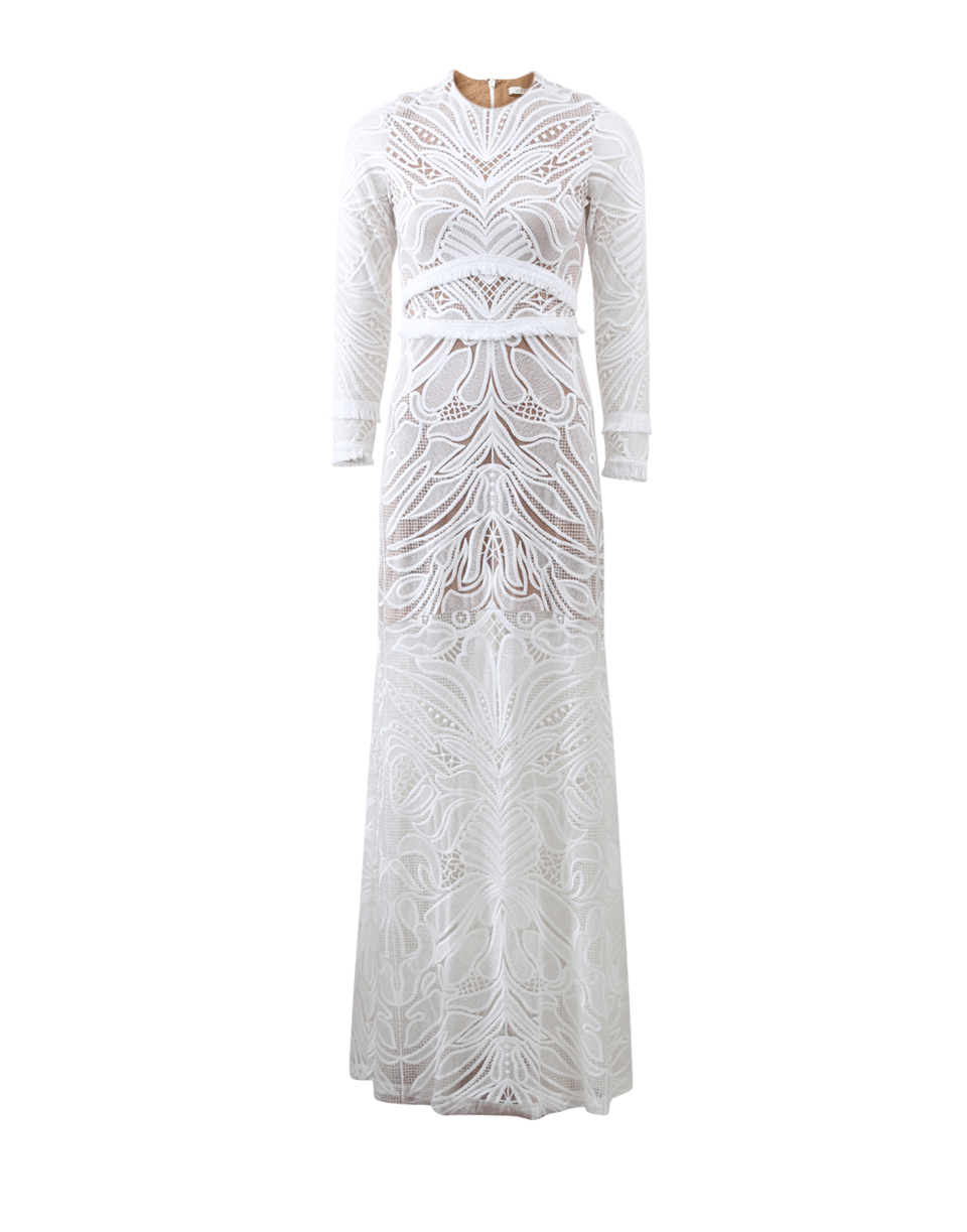 7bb05e80f650 Alexis Vince Lace Dress in White - Lyst