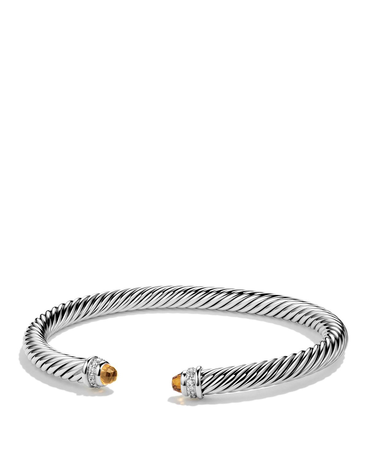 David yurman cable classics bracelet with citrine and for David yurman inspired bracelet cable