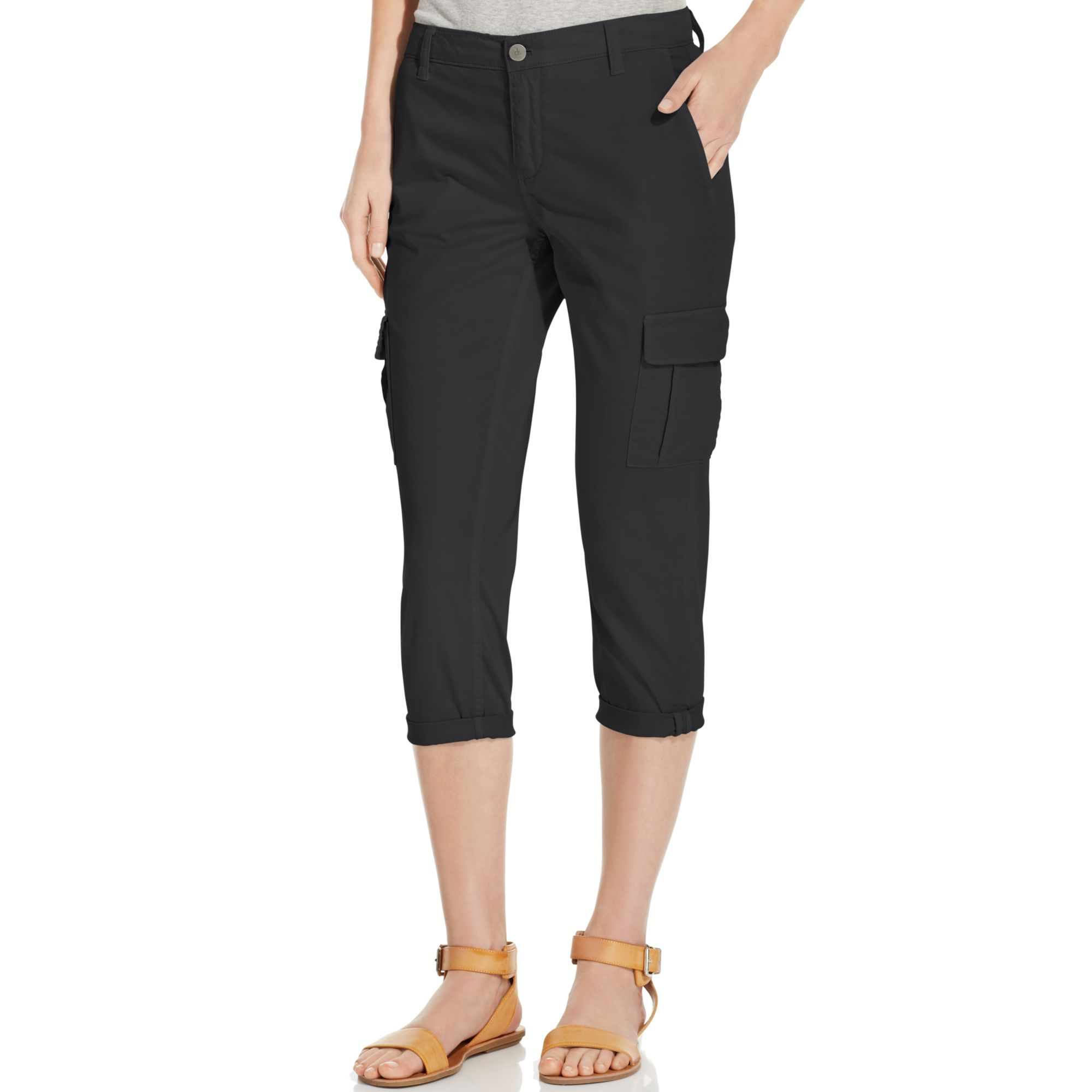 Fantastic Calvin Klein Performance Women39s Cinched Crop Cargo Pants  Free