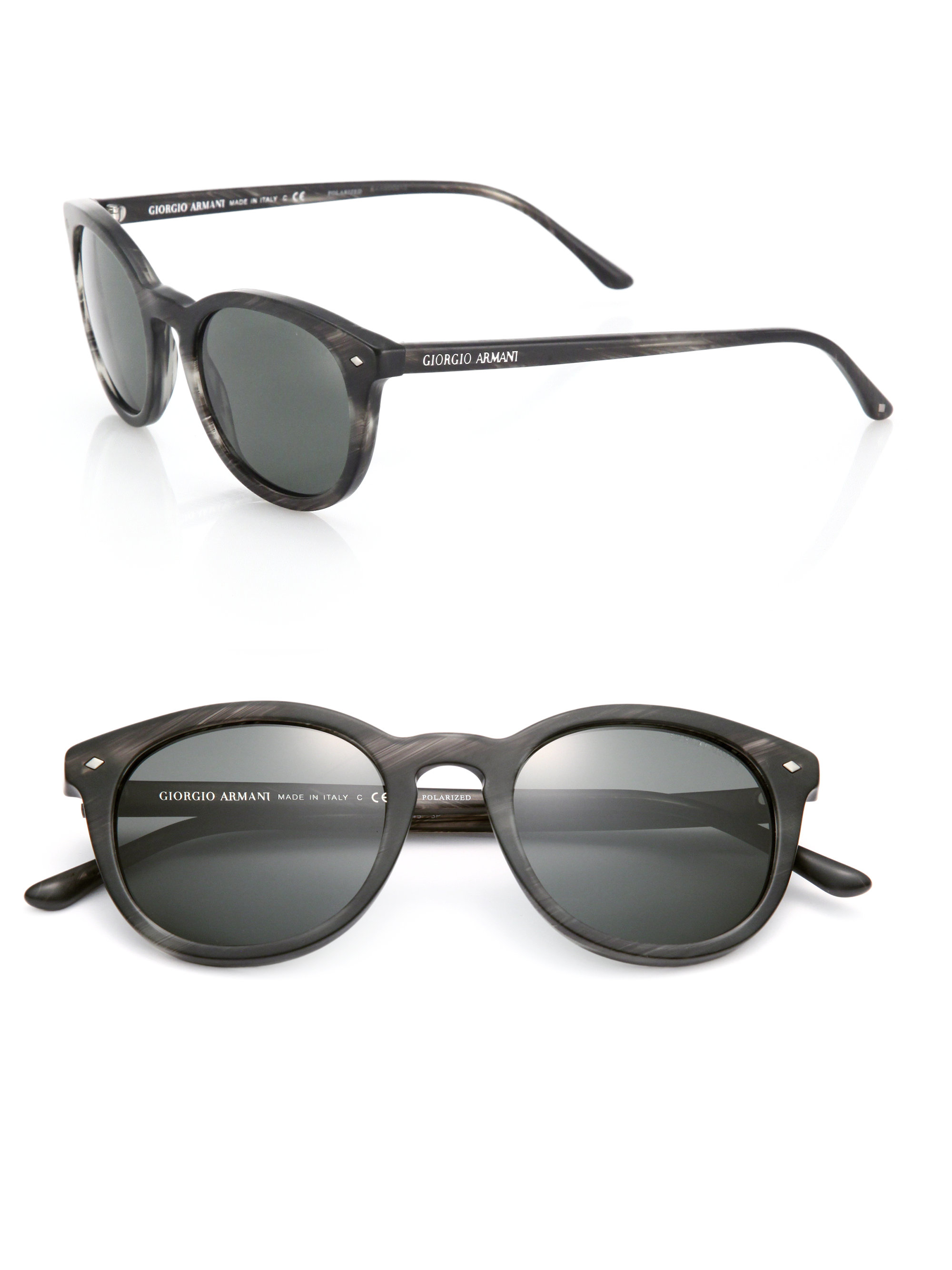 8a843343d40 Armani Sunglasses 8034 Gray