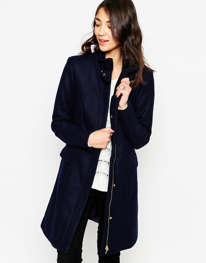 Vero moda jacket with contrast collar