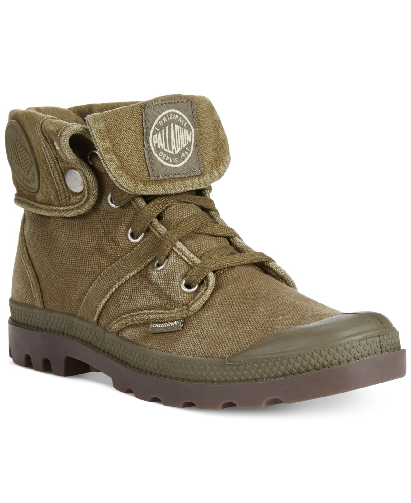 Lyst - Palladium Pallabrouse Baggy Boots in Green for Men 2b587c4907