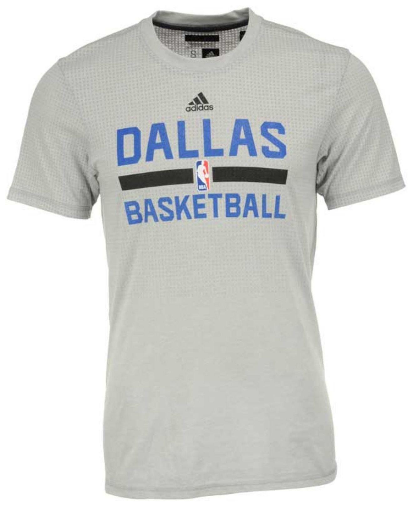 big sale 167fa 757f6 Lyst - adidas Originals Men s Dallas Mavericks On Court Graphic ...