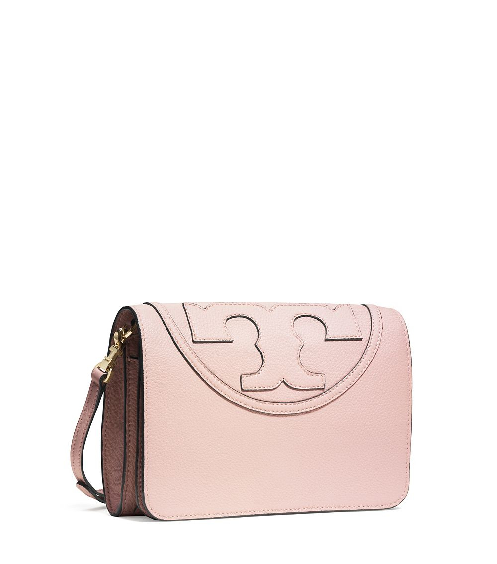 99c0a2aa09d Lyst - Tory Burch All-t Combo Cross-body in Natural