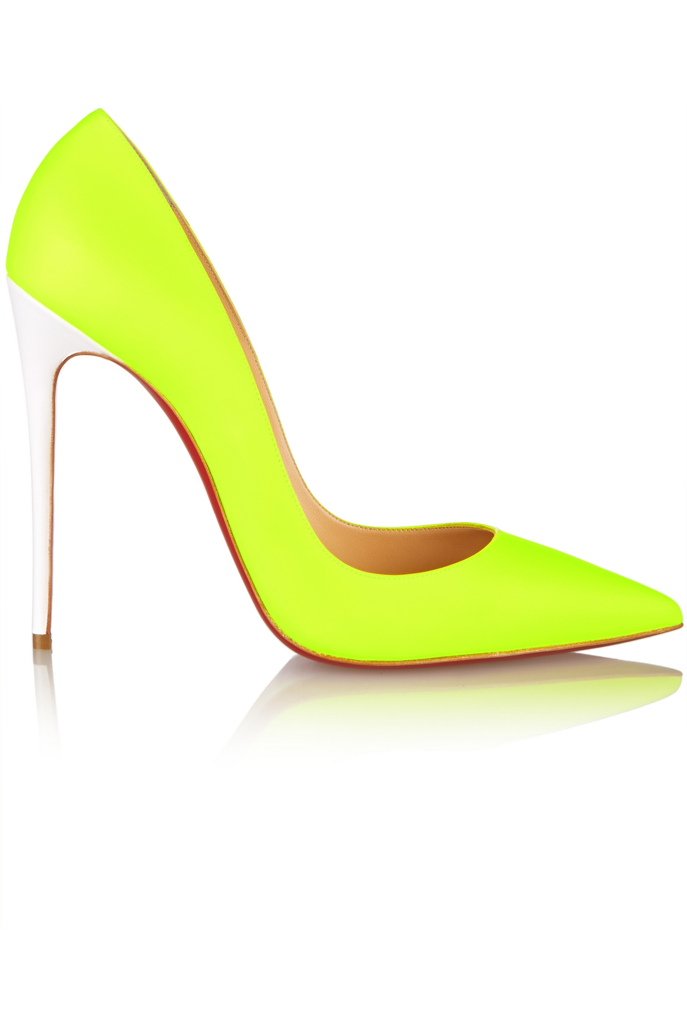 d6c1bde78a1 Gallery. Previously sold at  NET-A-PORTER · Women s Yellow Heels Women s Christian  Louboutin So Kate ...