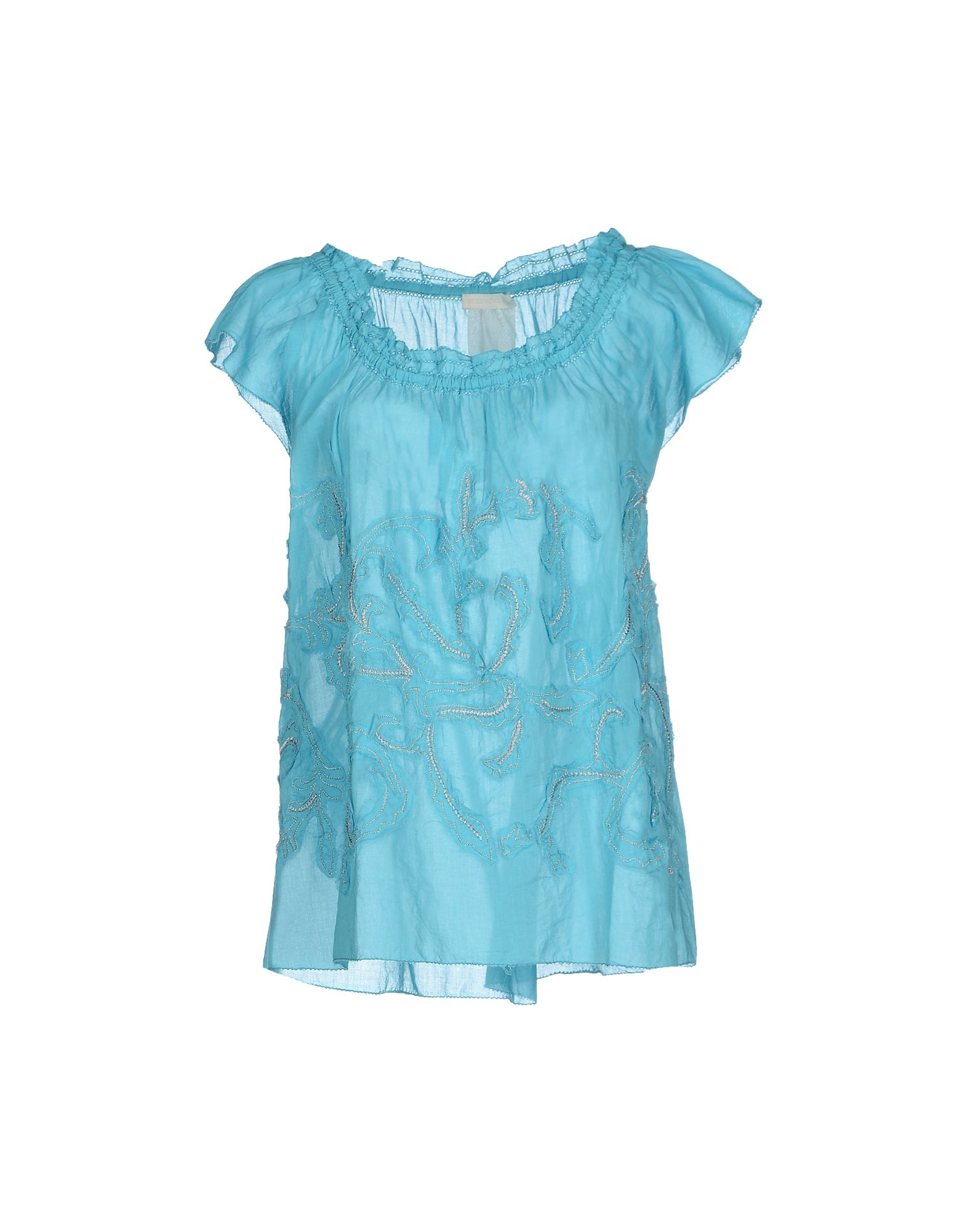 Sky Blue Womens Blouse 74