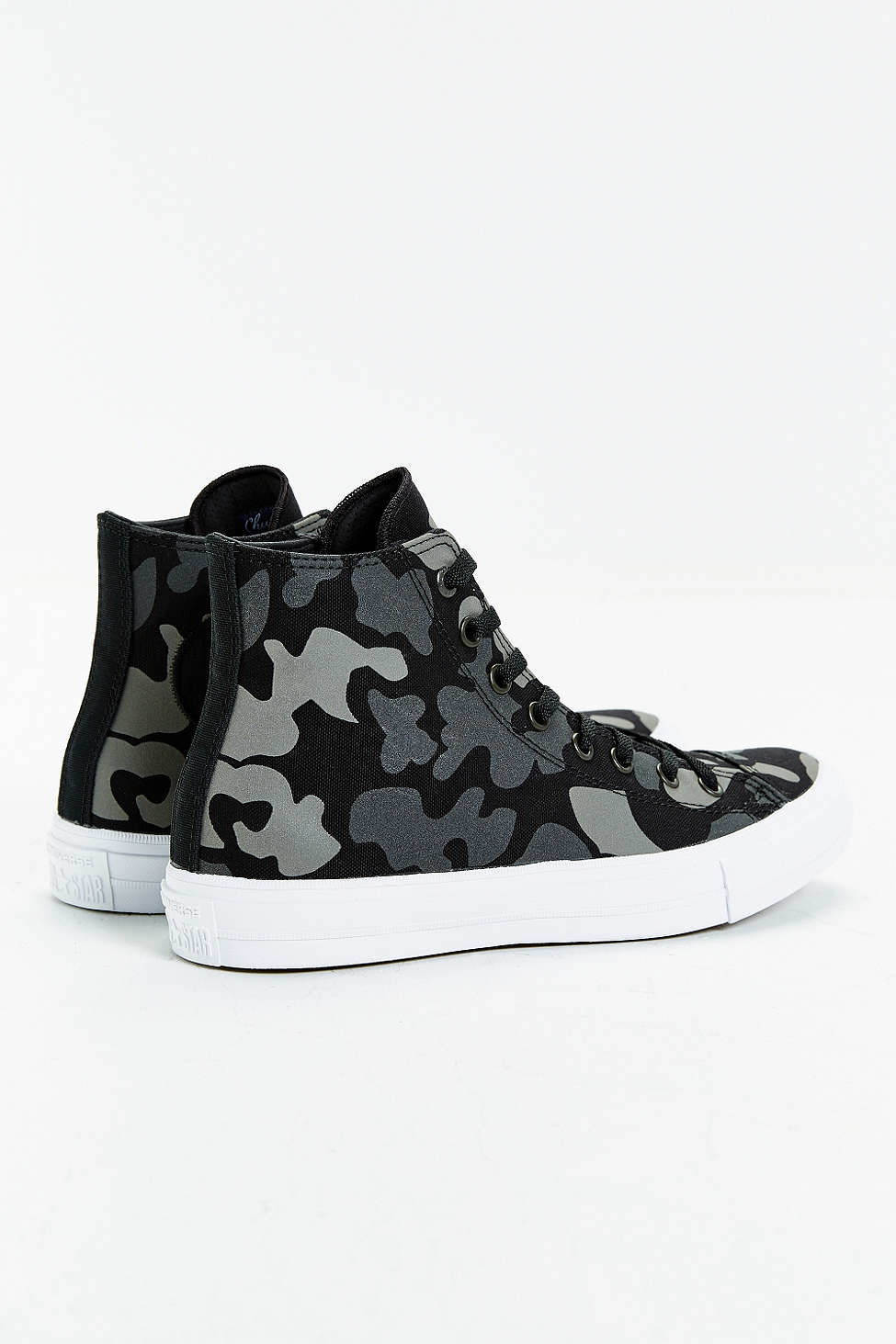7f06a2afee8a Lyst - Converse Chuck Taylor All Star Ii Reflective Camo Sneaker in Blue
