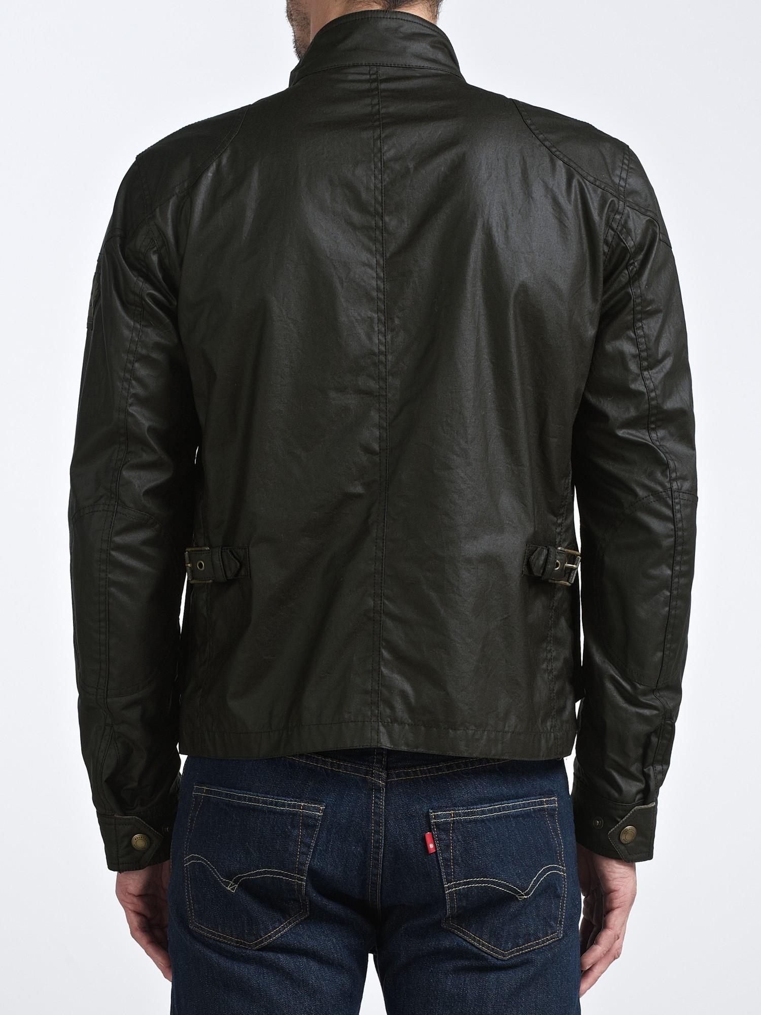 Belstaff Burgess Blouson Waxed Jacket