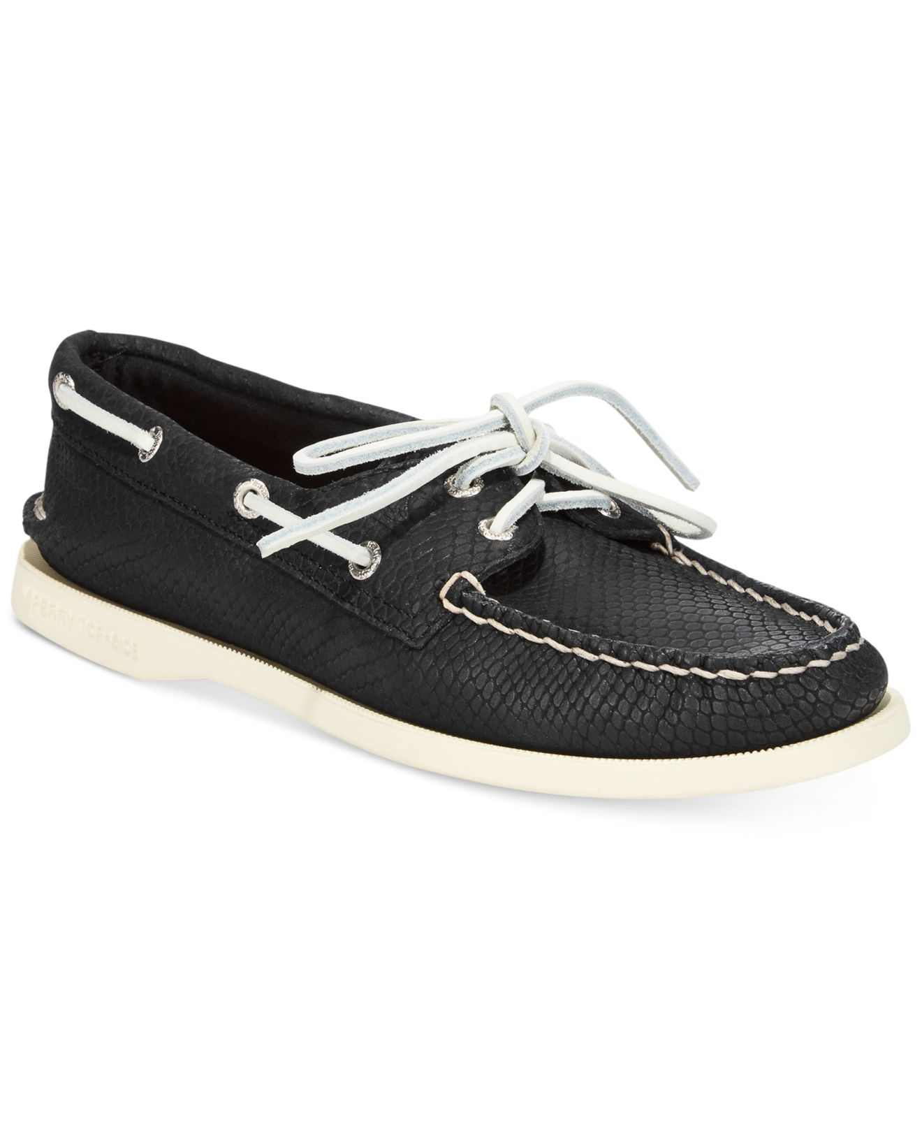 Lyst Sperry Top Sider Women s Authentic Original A o Python Boat
