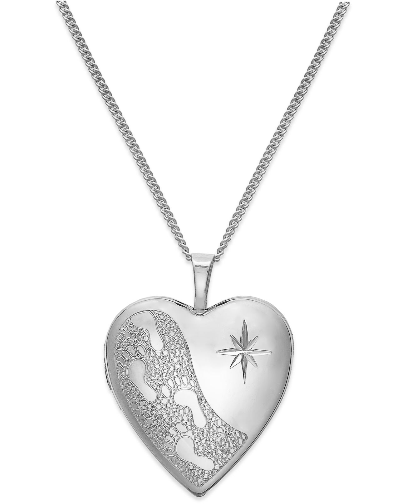 Macy's Footprints In The Sand Engraved Heart Locket. Easter Necklace. Unset Diamond. Orchid Earrings. Channel Set Wedding Rings. Huge Diamond Rings. Pearl Bracelet. Motocross Watches. Promotional Bracelet