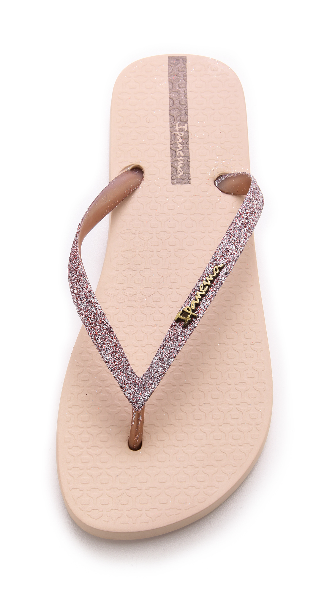 de360fbba8c5 Lyst - Ipanema Glitter Ii Flip Flops - Silver in Pink