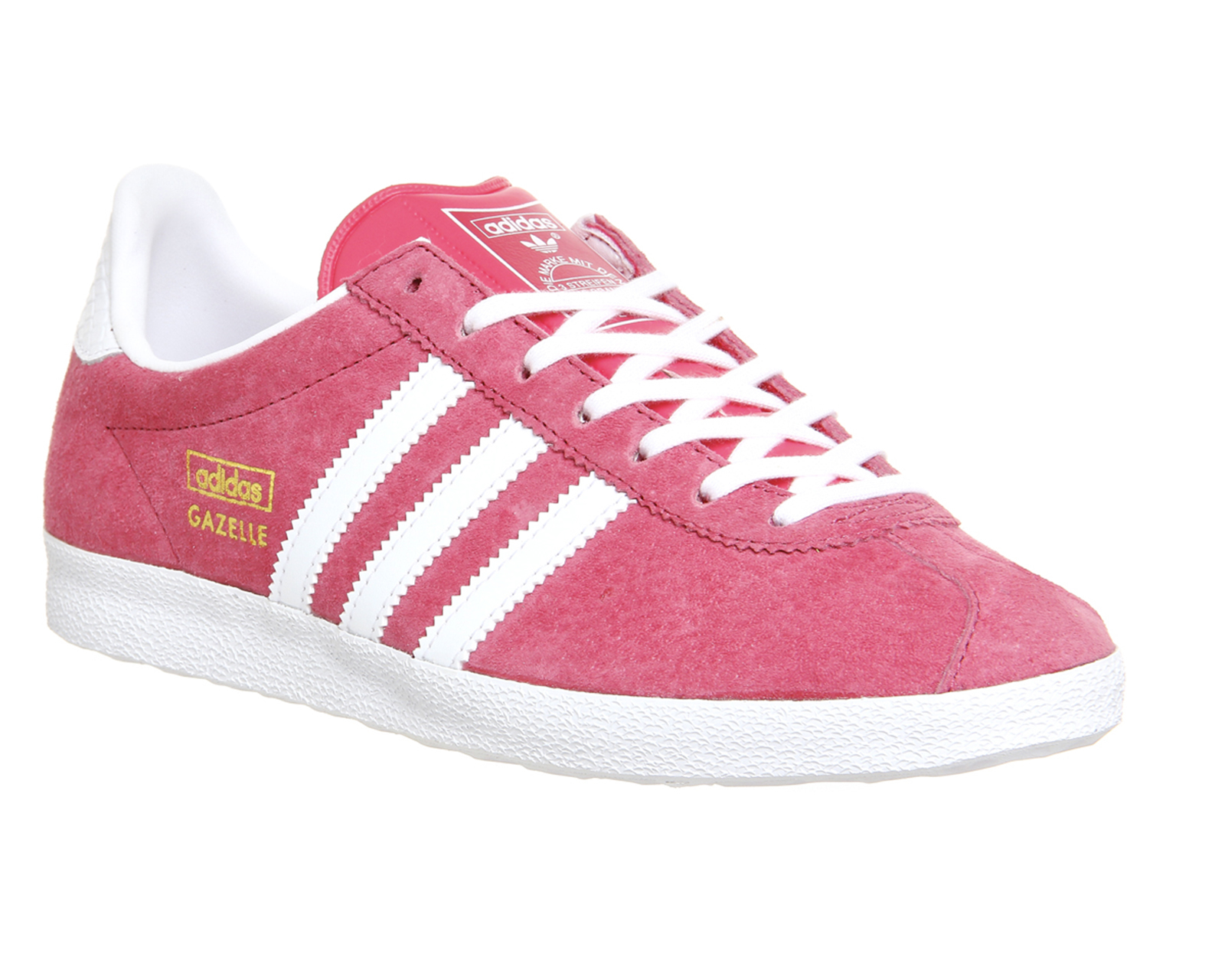 newest 05814 1e37f Lyst - adidas Originals Gazelle Og Suede Sneakers in Pink