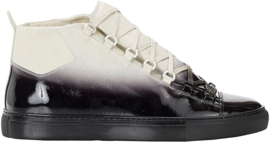 b883a645ae6709 Balenciaga Sneakers Black High Top Vans