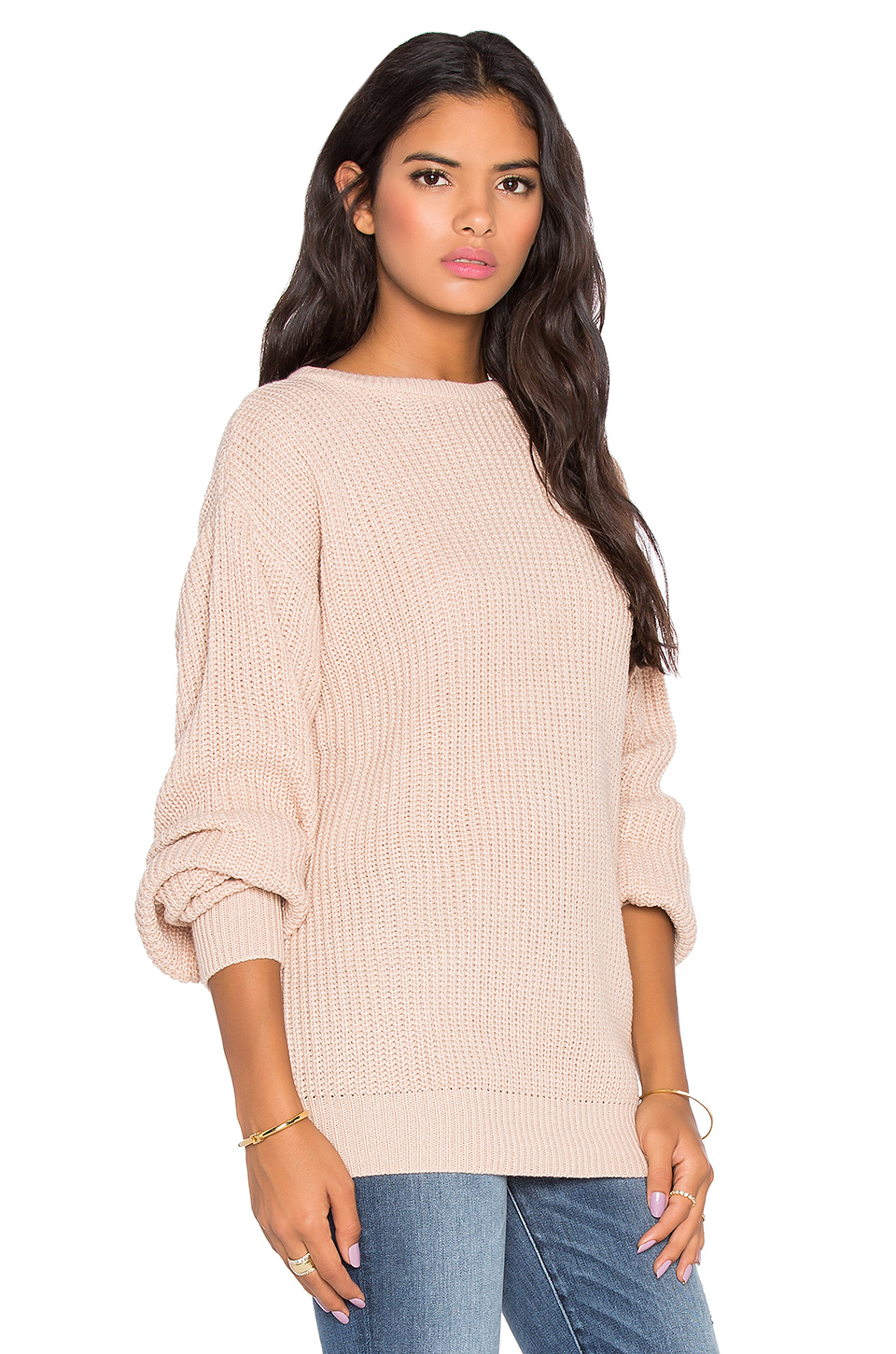Womens Cream Sweater