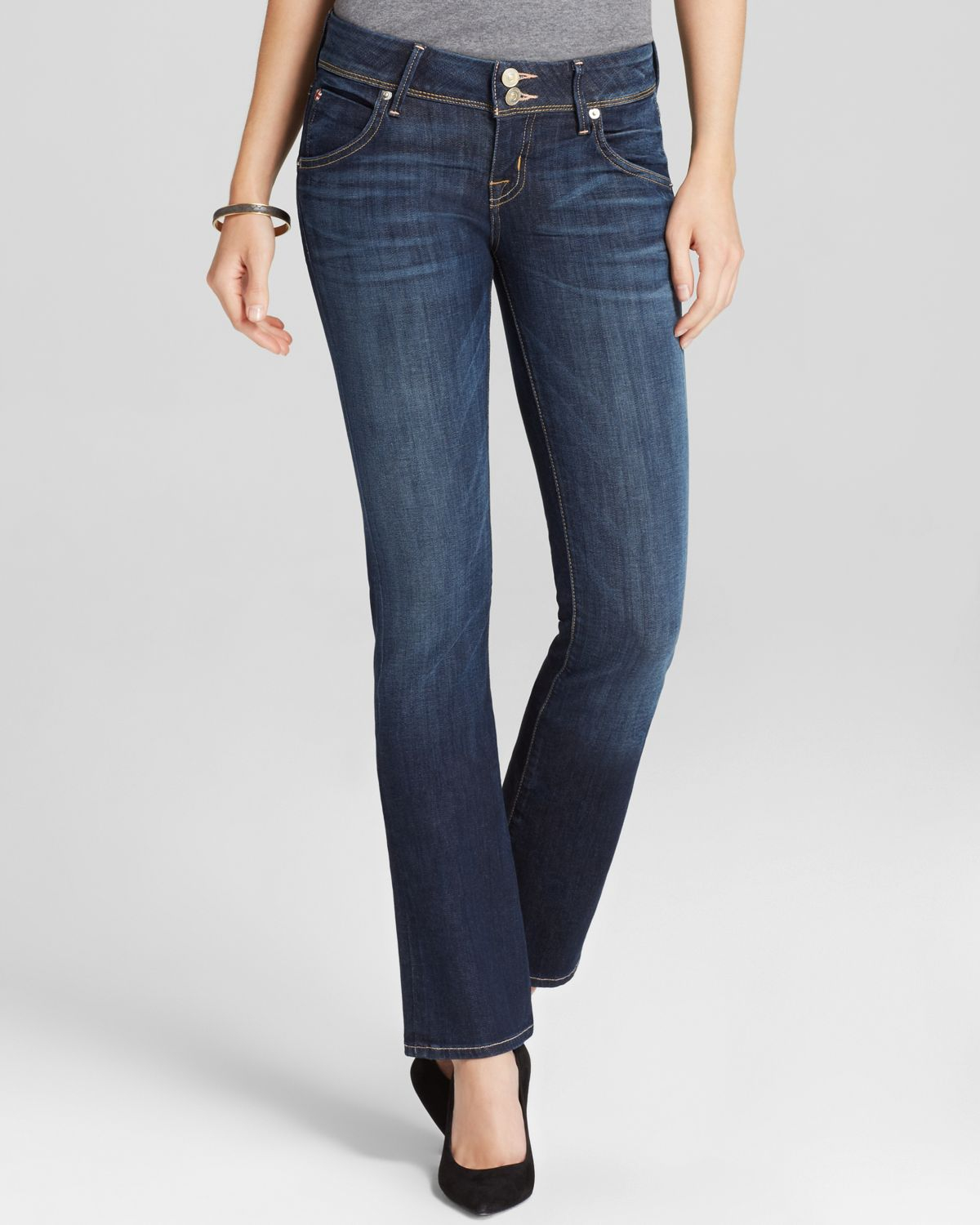 Hudson jeans Jeans - Beth Baby Bootcut In Stella in Blue | Lyst