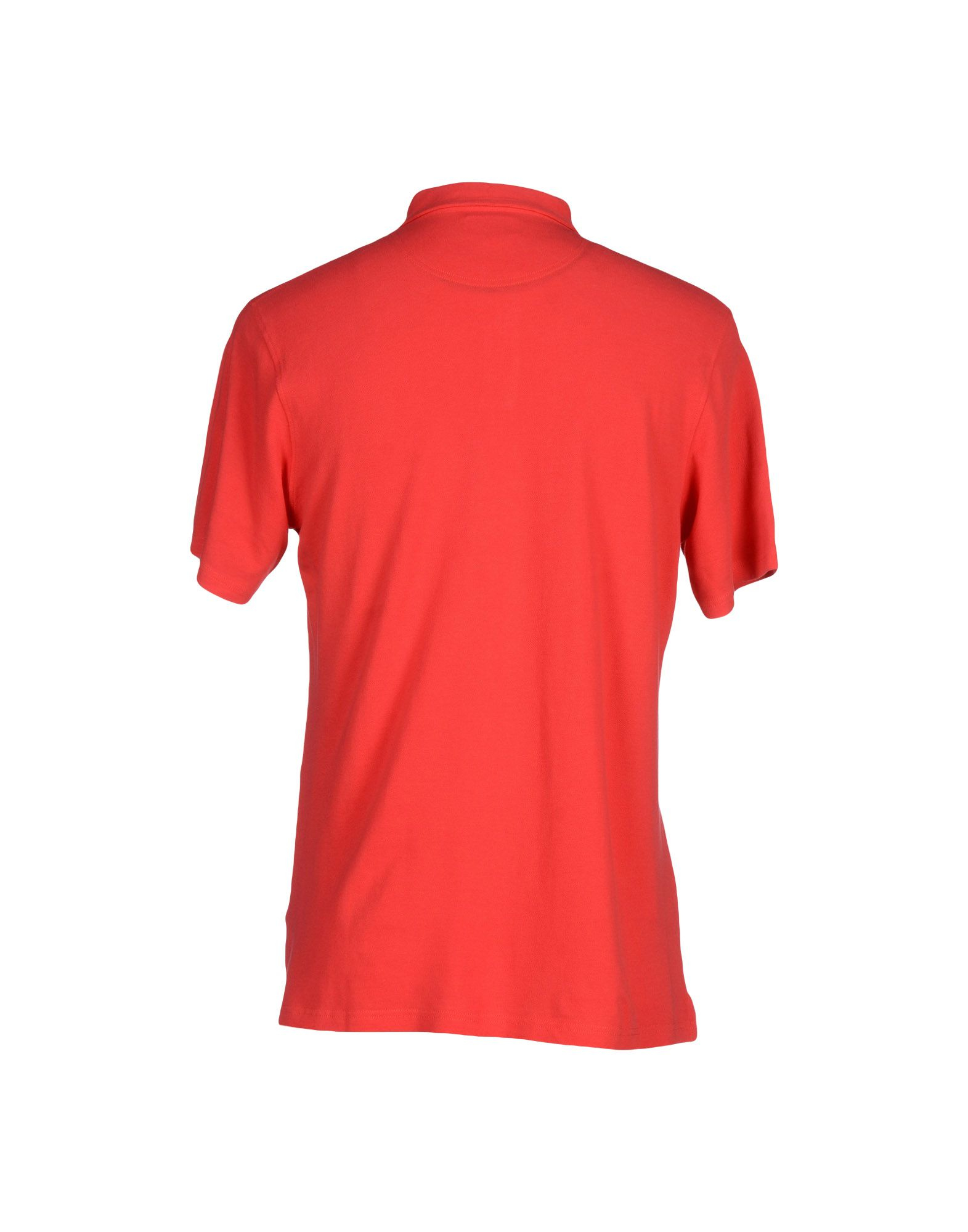 Hartford polo shirt in red for men lyst for T shirt printing hartford ct