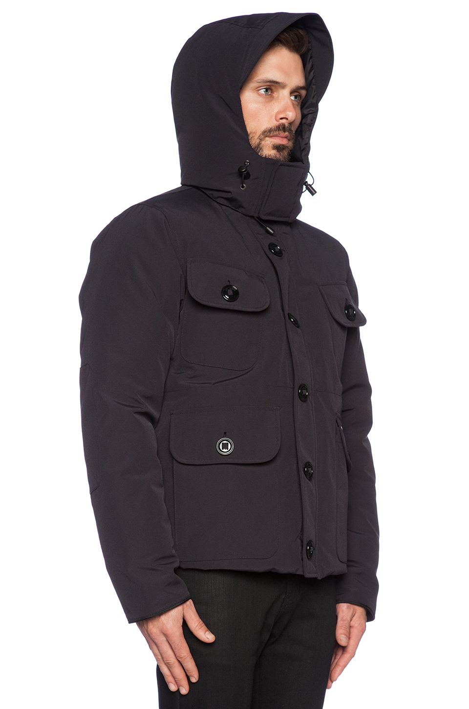 Canada Goose down replica price - Canada goose Selkirk Parka in Blue for Men (Navy) | Lyst