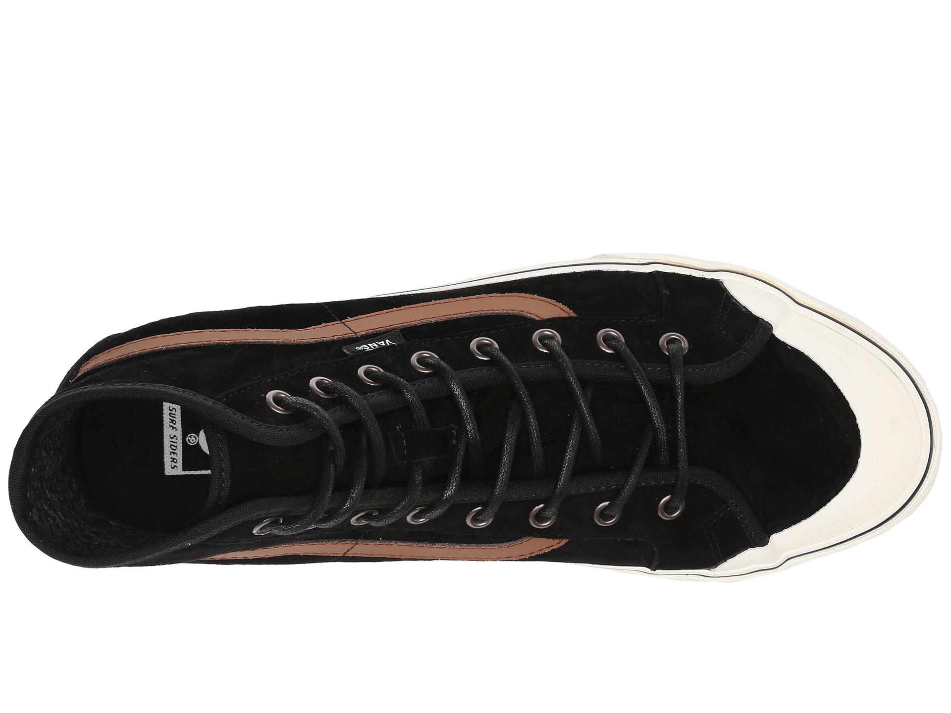 743c566feb Lyst - Vans Black Ball Hi Sf Mte in Black for Men