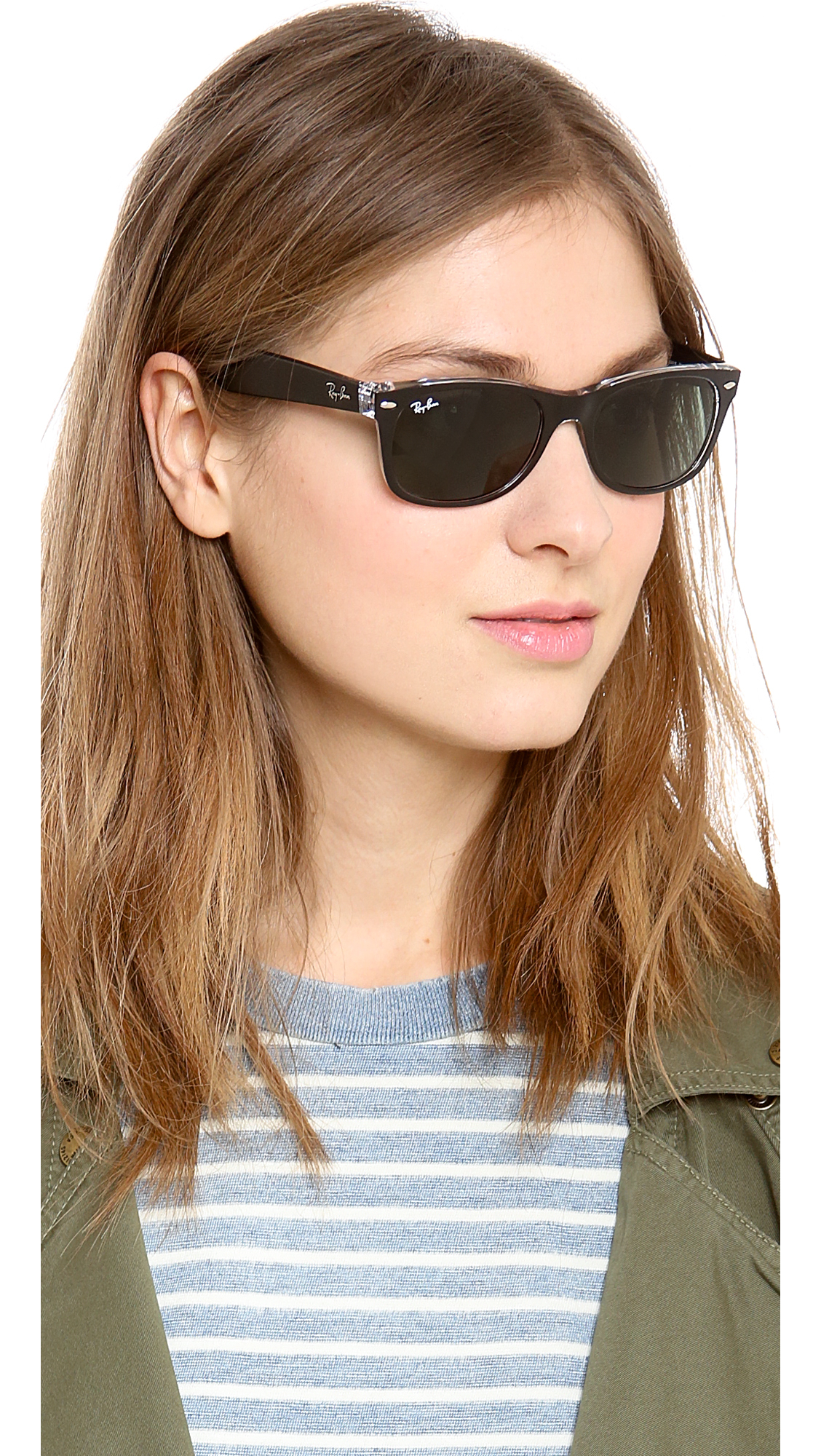 womens wayfarer  ray ban new small wayfarer 52mm sunglasses