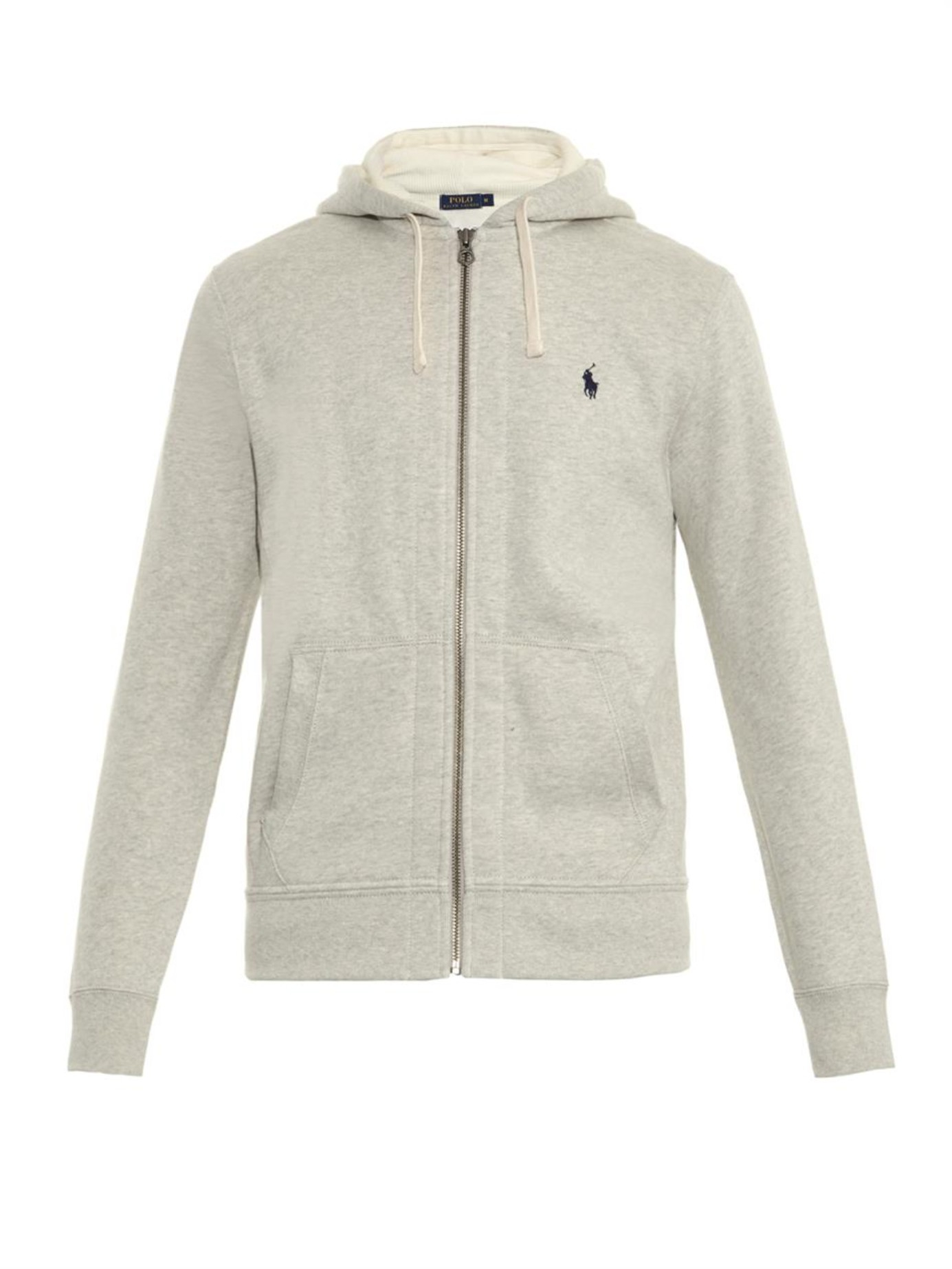 Polo Ralph Lauren | Gray Zip-up Hooded Sweatshirt for Men | Lyst. View Fullscreen