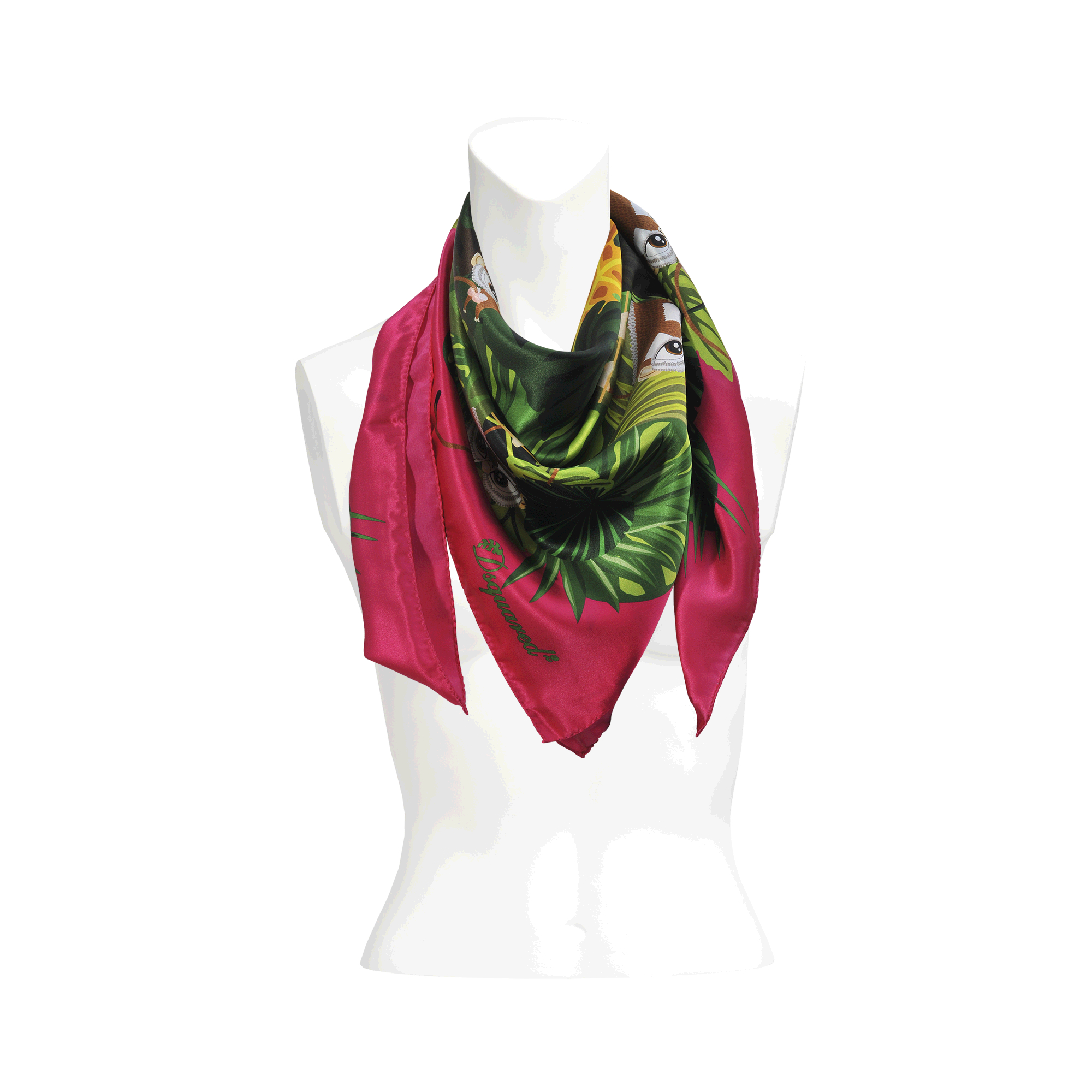 scarf dorothee fringes ferrari accessories franco lyst gallery floral softness handmade with schumacher printed