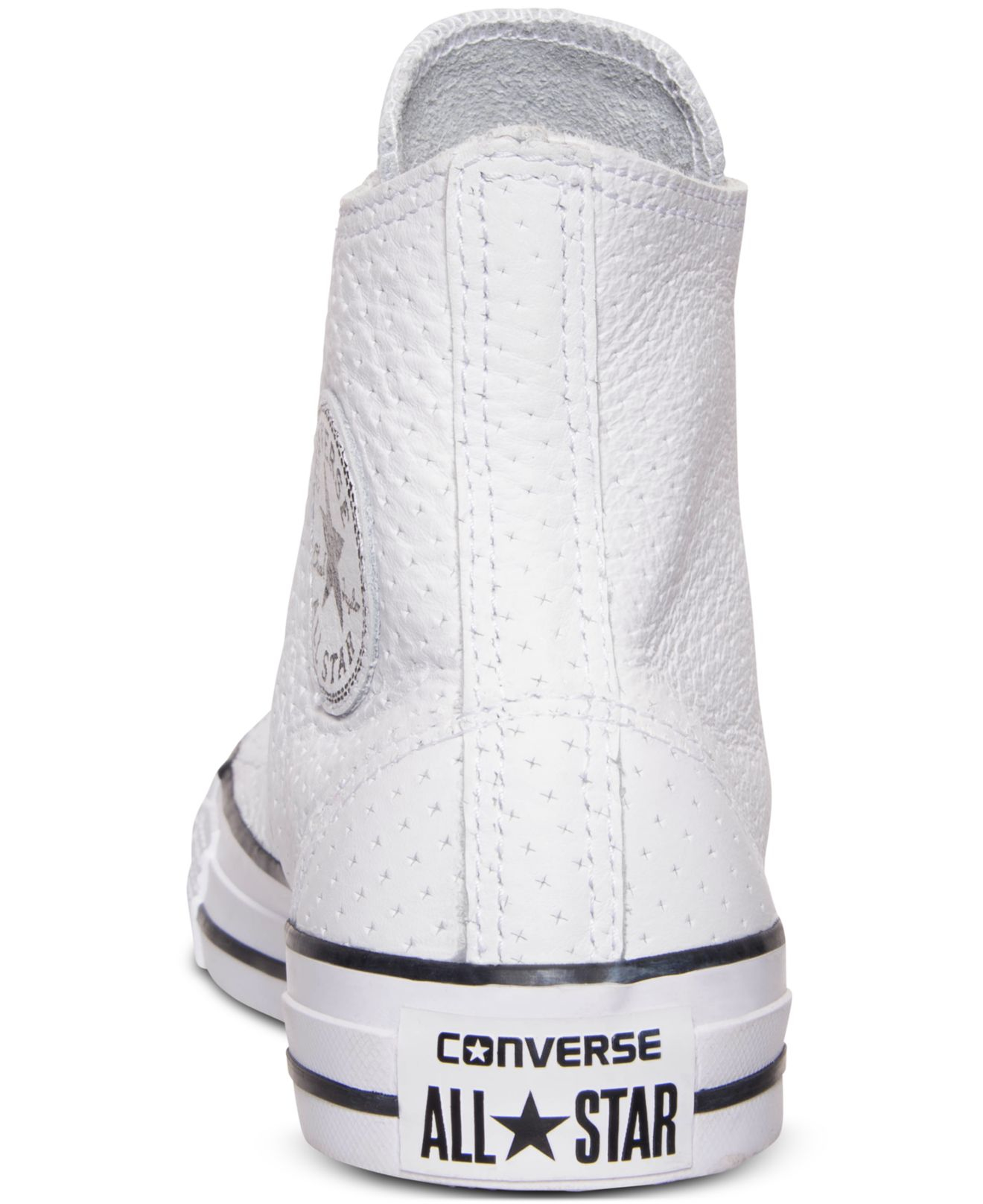 92d035a77ab1 Lyst - Converse Unisex Chuck Taylor Hi Craft Leather Casual Sneakers ...