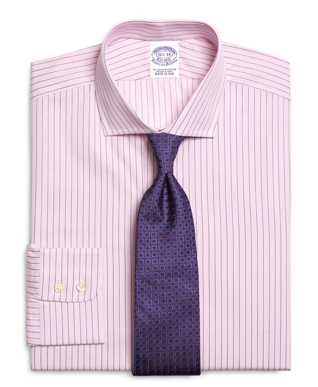 Lyst Brooks Brothers Egyptian Cotton Regular Fit Spread