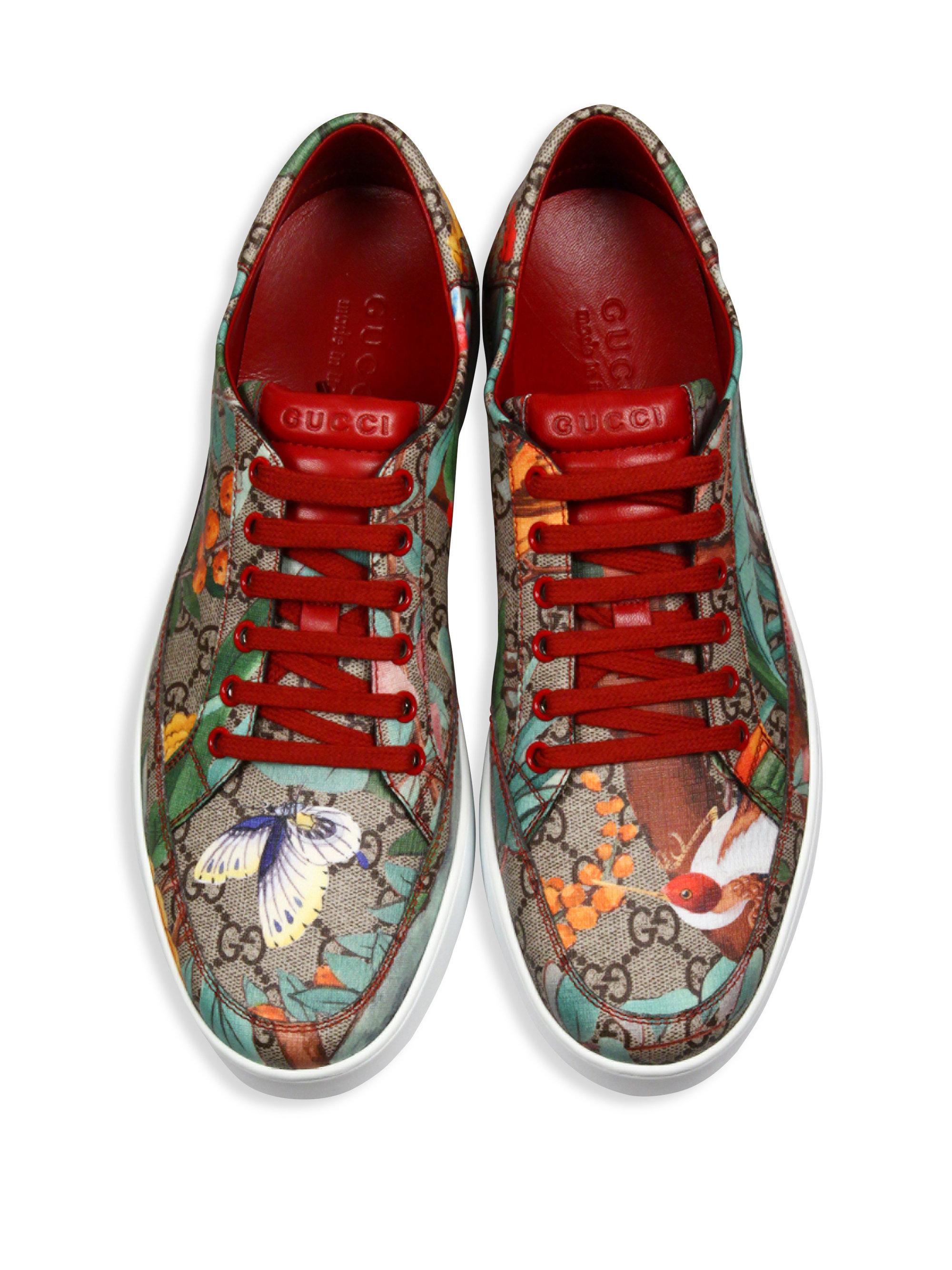 6a7eeb388 Gucci Gg Supreme Tian Low-top Sneakers for Men - Lyst