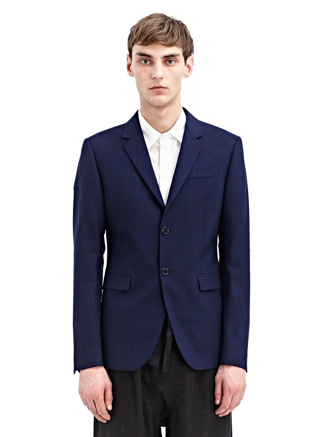 Marni Mens Wool Blazer Jacket in Blue for Men | Lyst