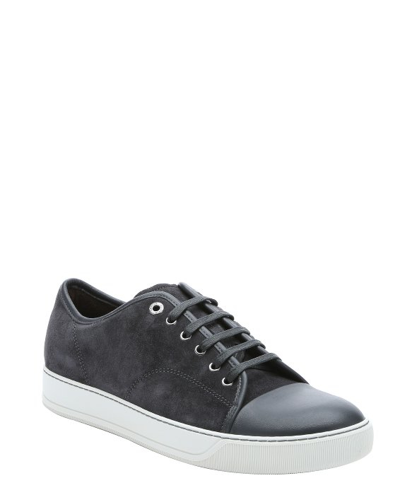 Lanvin Sneakers Plafonnés Orteil - Gris 9Hv1Y