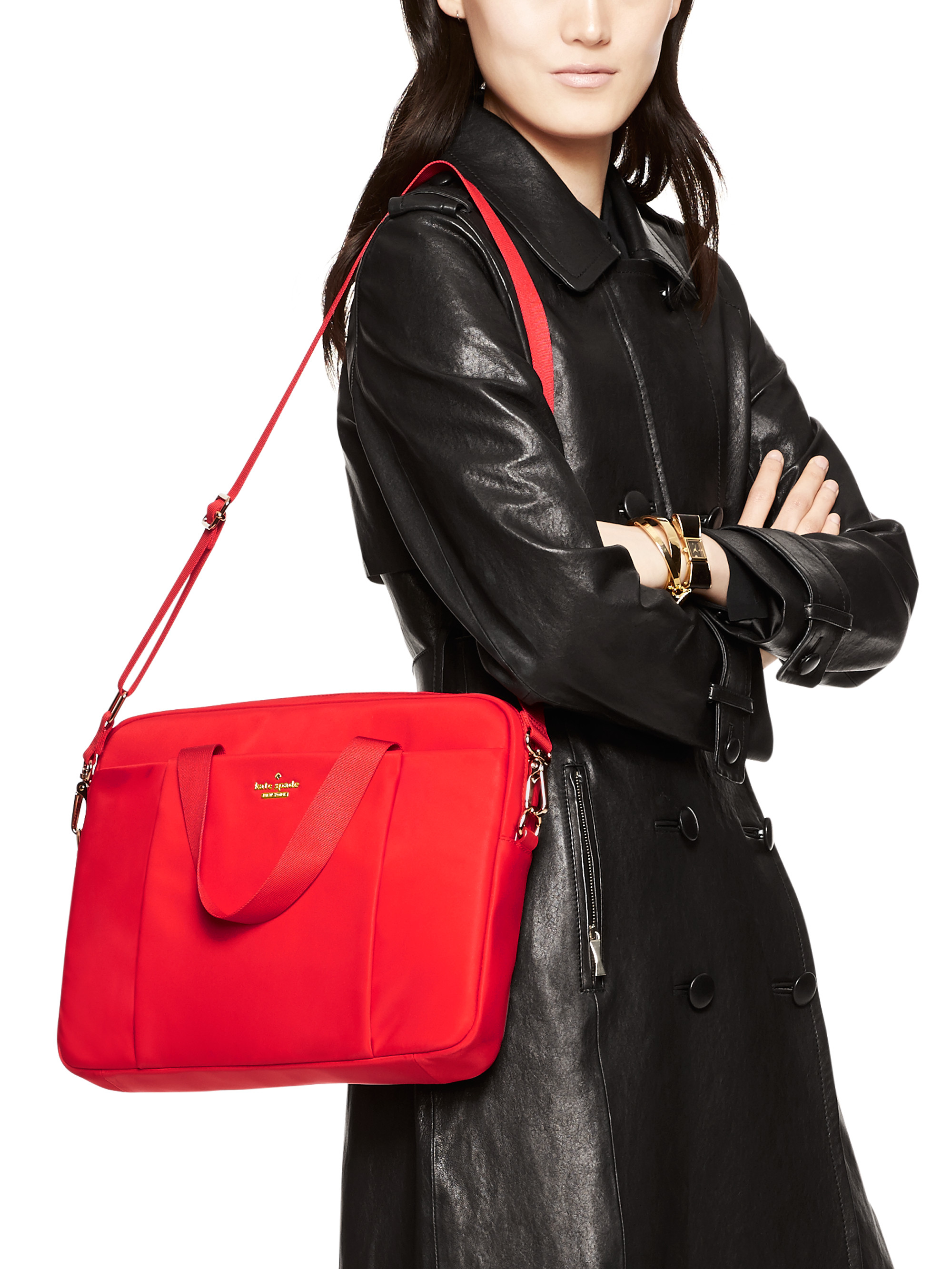 Kate Spade New York Classic Nylon Commuter Laptop Bag In