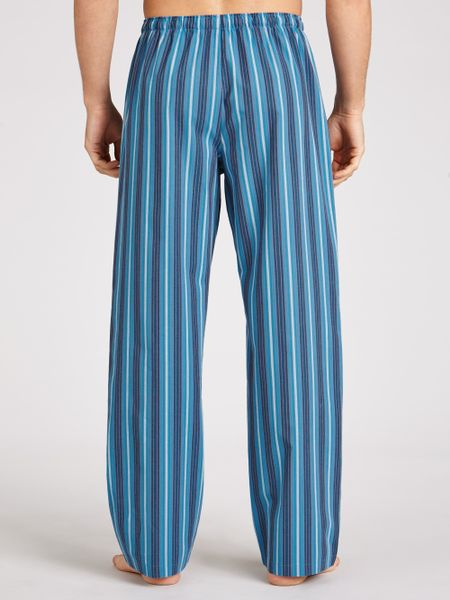 Calvin Klein Lang Striped Pyjama Pants In Blue For Men Lyst