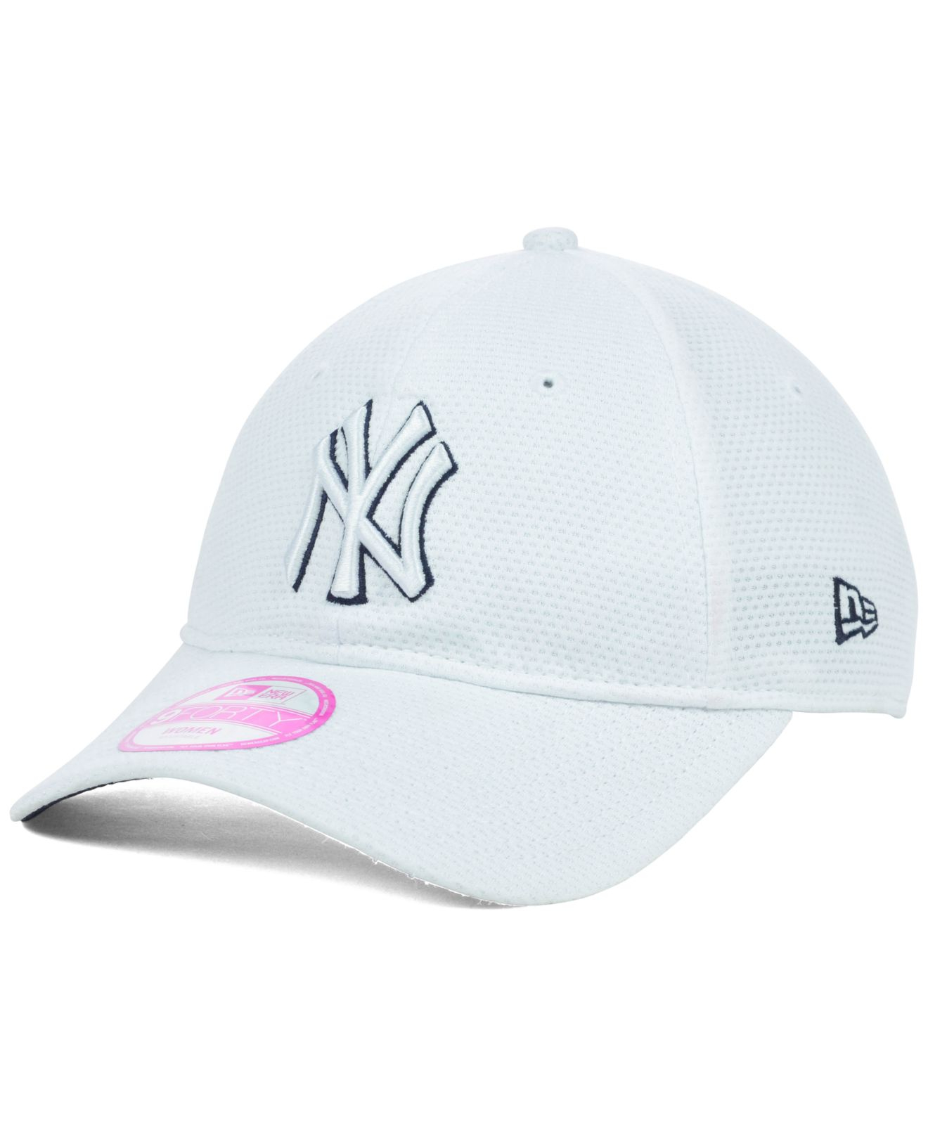 2b1c49055d0eb Lyst - KTZ Women S New York Yankees Tech Essential 9Forty Cap in White