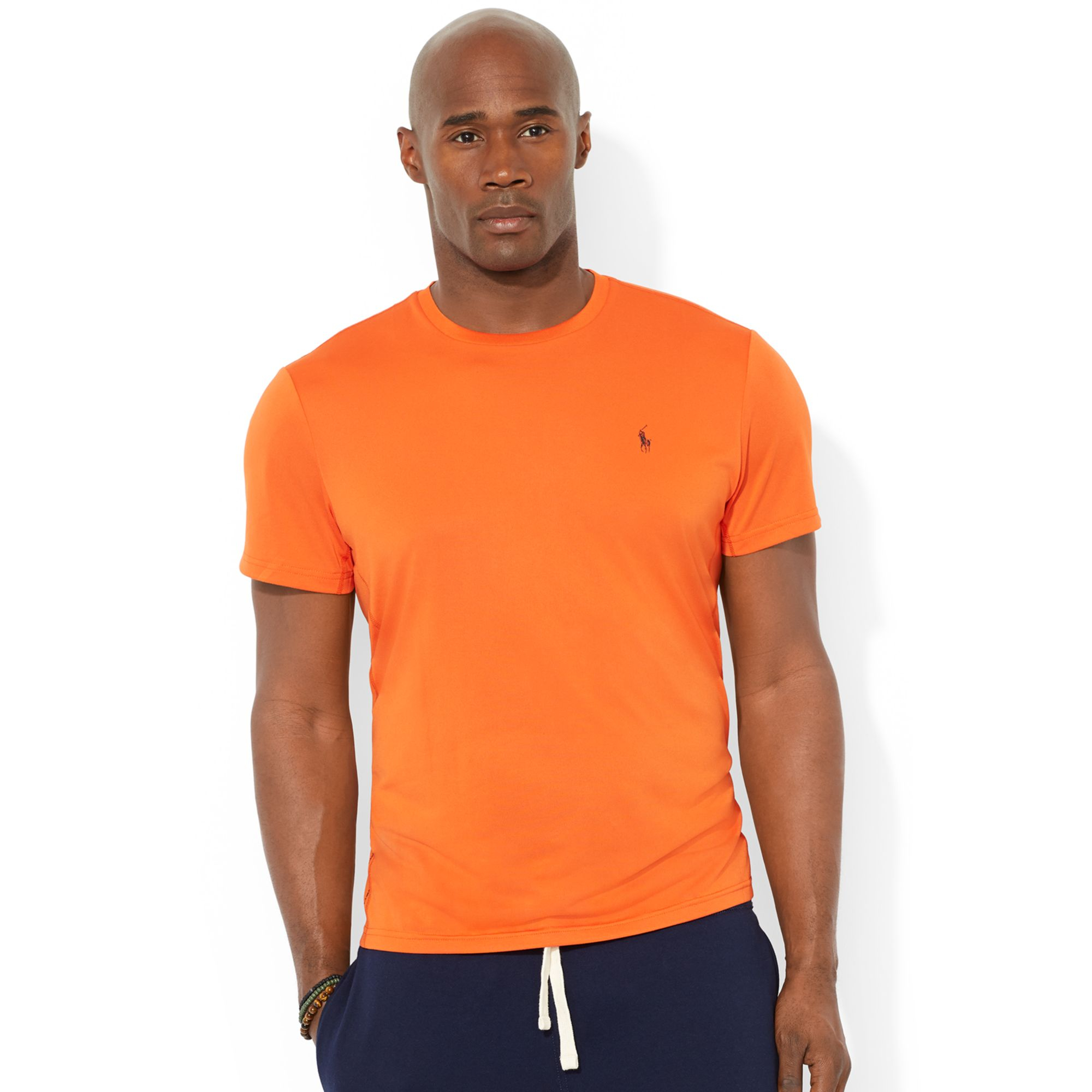 Polo Ralph Lauren Big And Tall Short Sleeve Performance