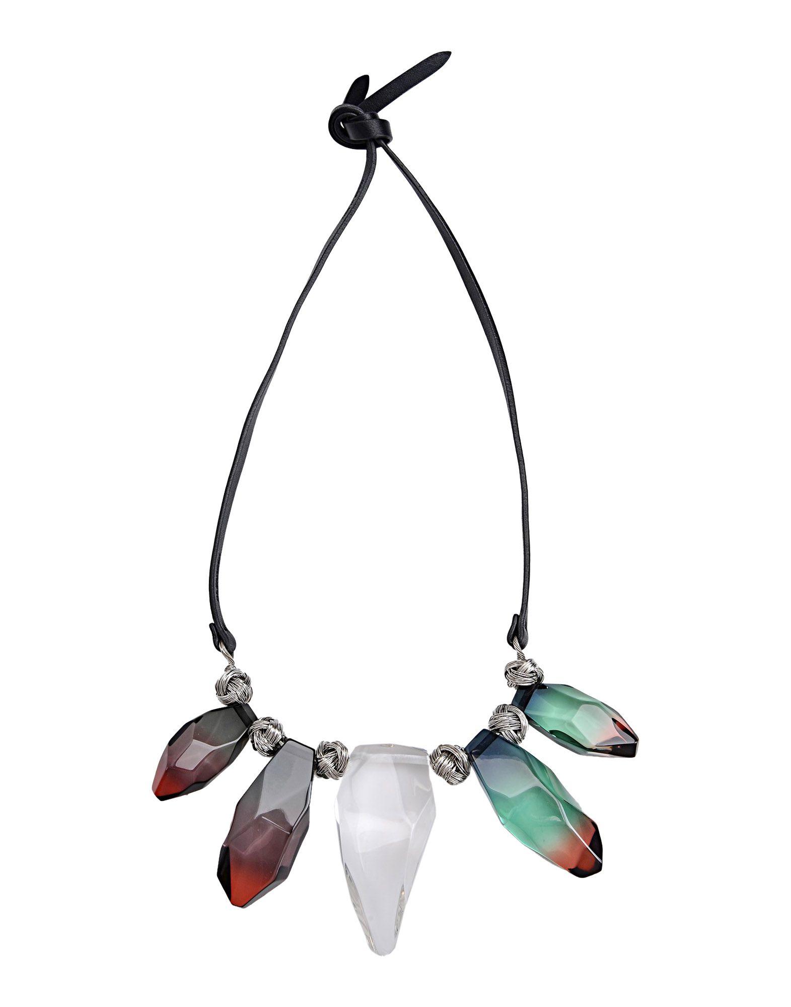 jil sander necklace in black lyst