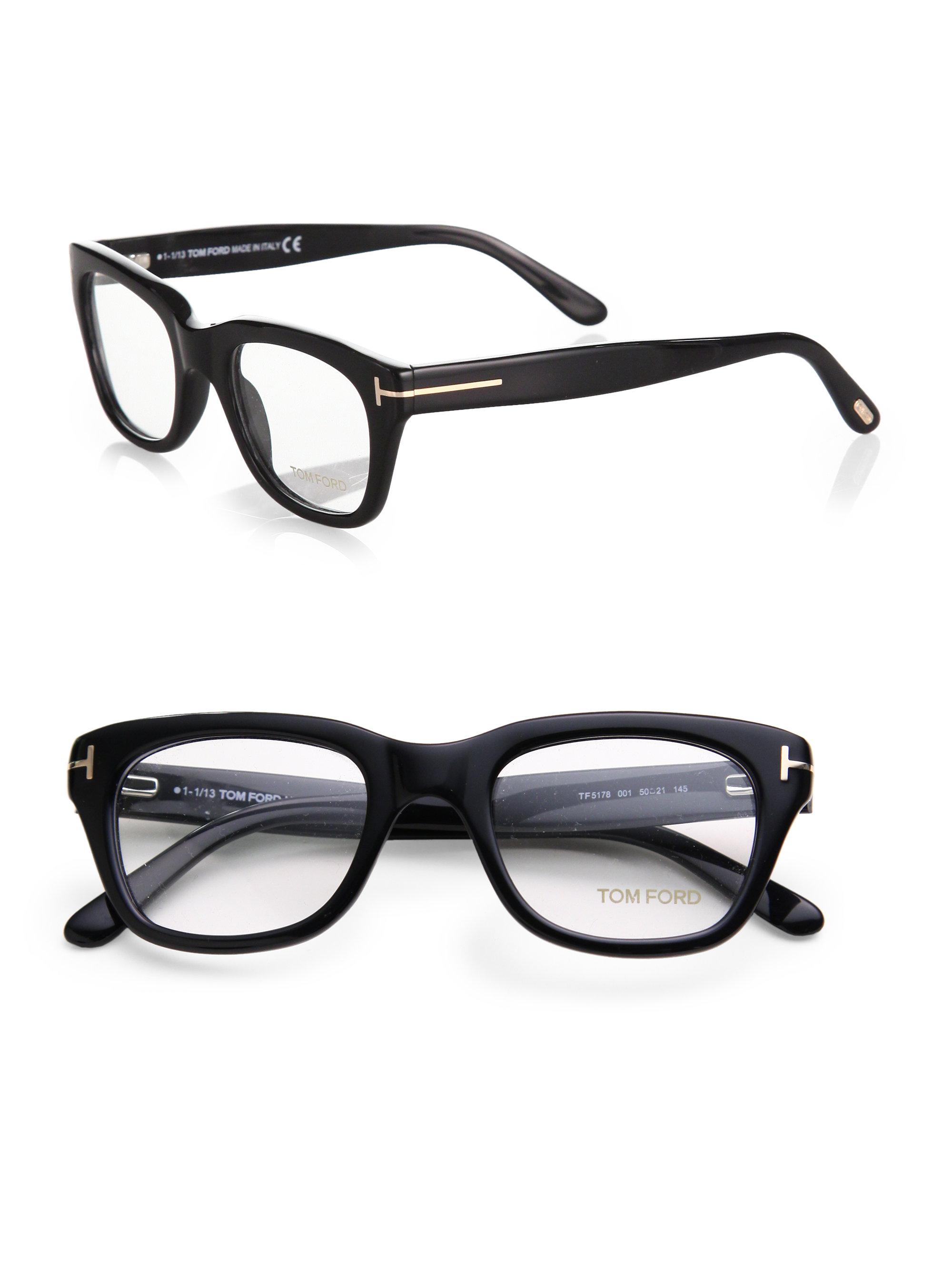 19df4807524 Lyst - Tom Ford 5178 Square Optical Frames in Black for Men